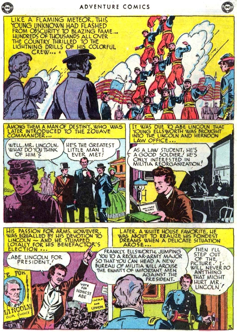 Read online Adventure Comics (1938) comic -  Issue #156 - 34