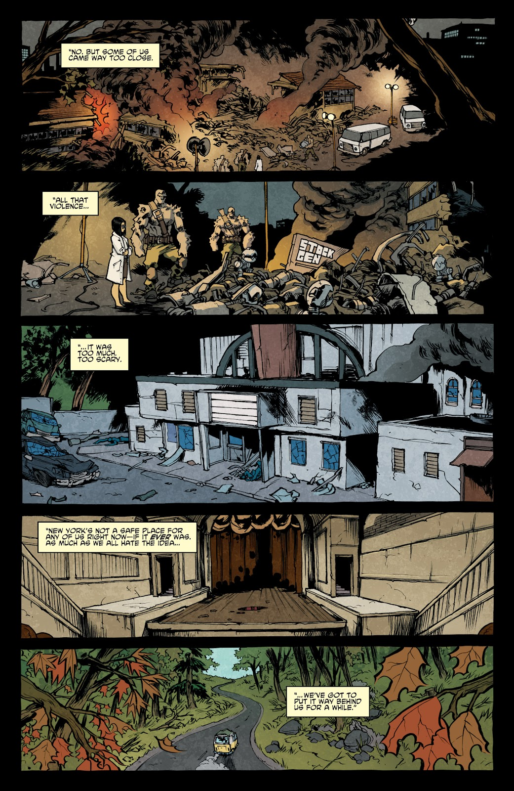 Read online Teenage Mutant Ninja Turtles: The IDW Collection comic -  Issue # TPB 4 (Part 1) - 8