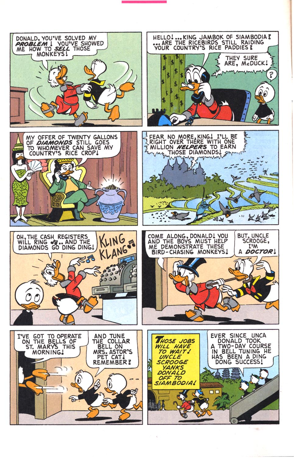 Read online Uncle Scrooge (1953) comic -  Issue #302 - 6