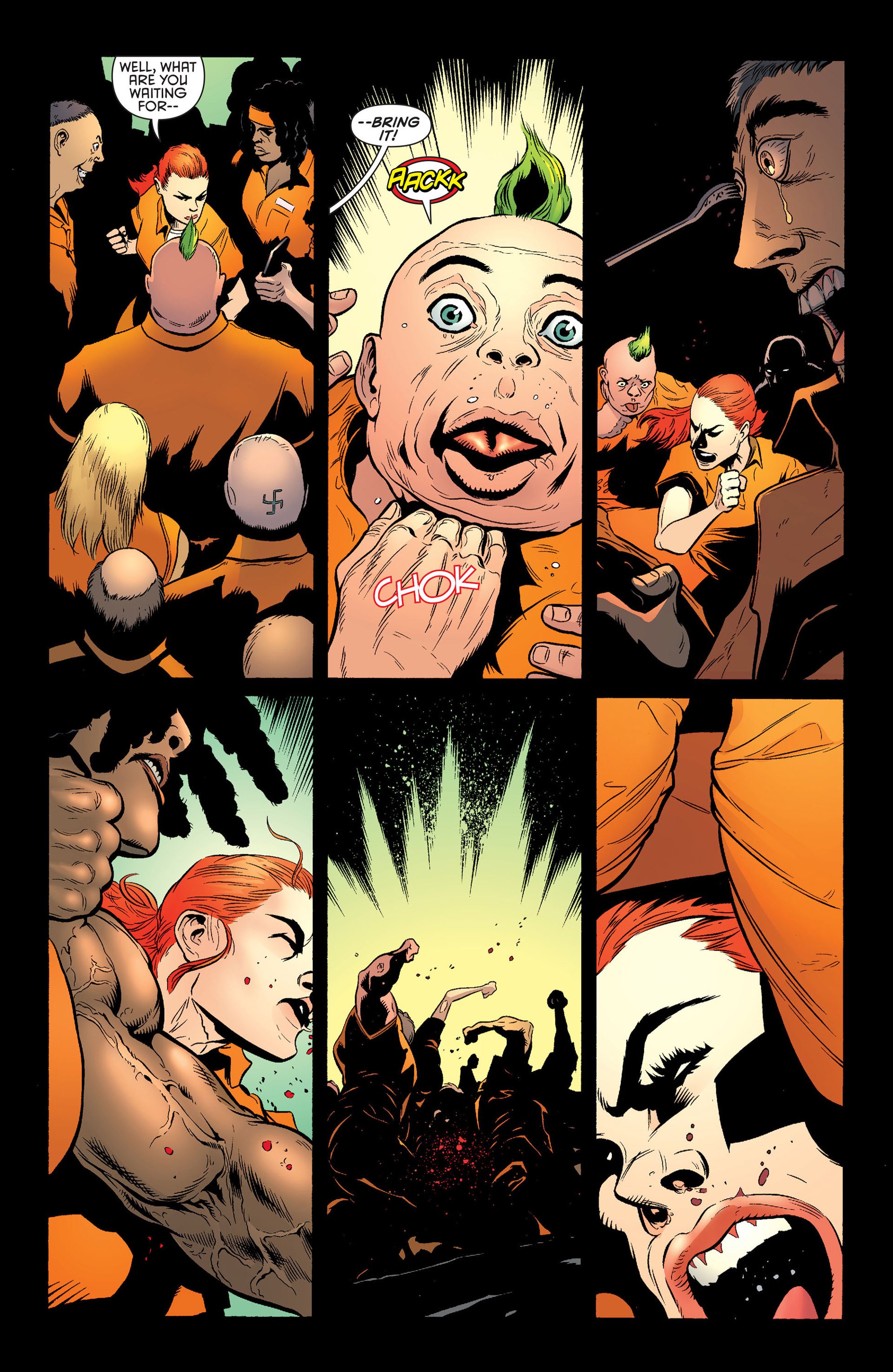 Read online Batman and Robin (2011) comic -  Issue #25 - Batman and Two-Face - 16
