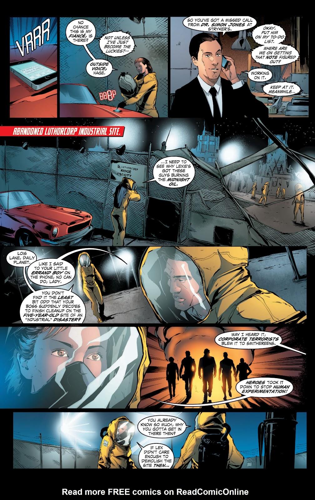 Read online Smallville Season 11 [II] comic -  Issue # TPB 3 - 46