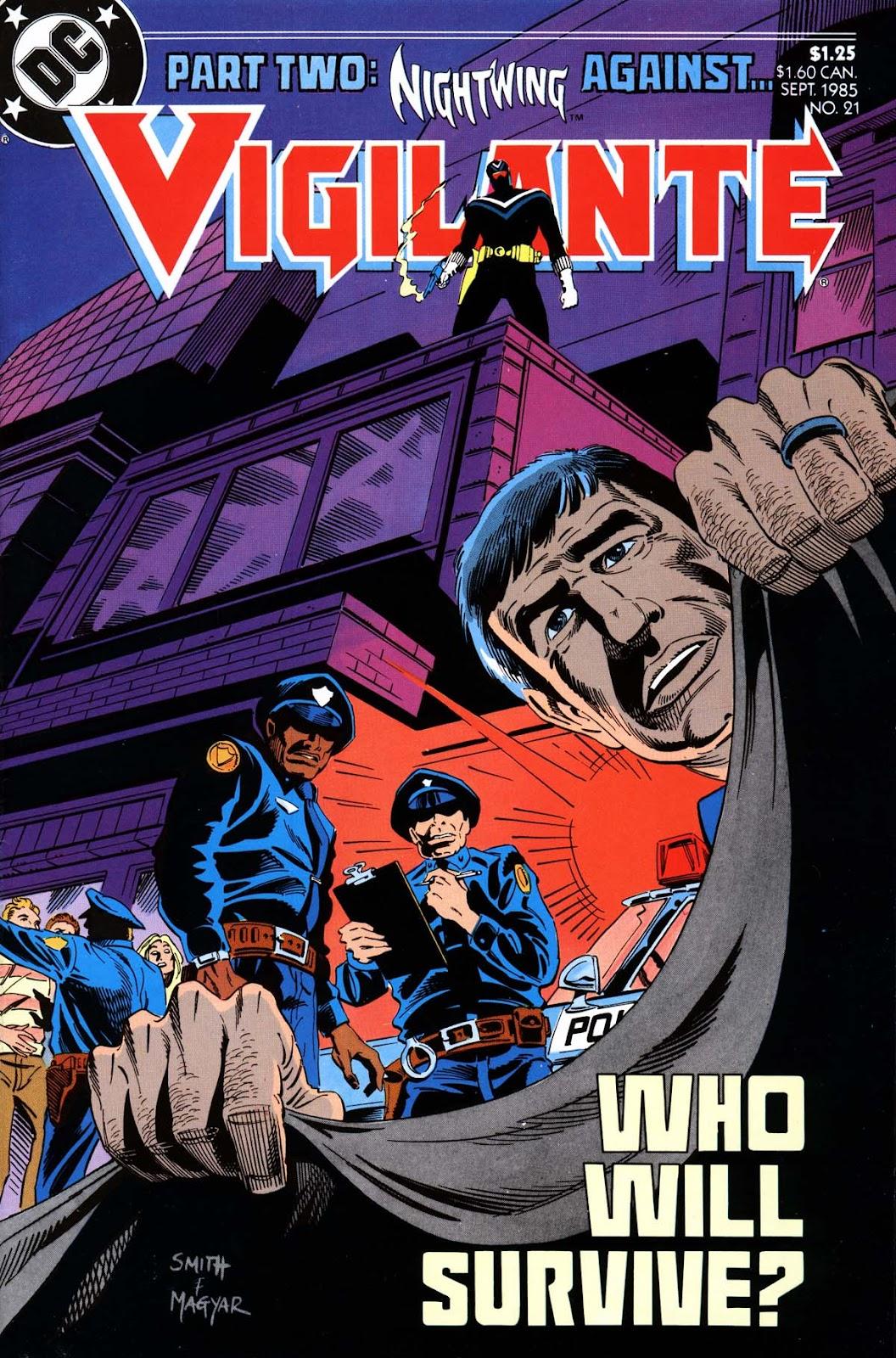 Vigilante (1983) issue 21 - Page 1
