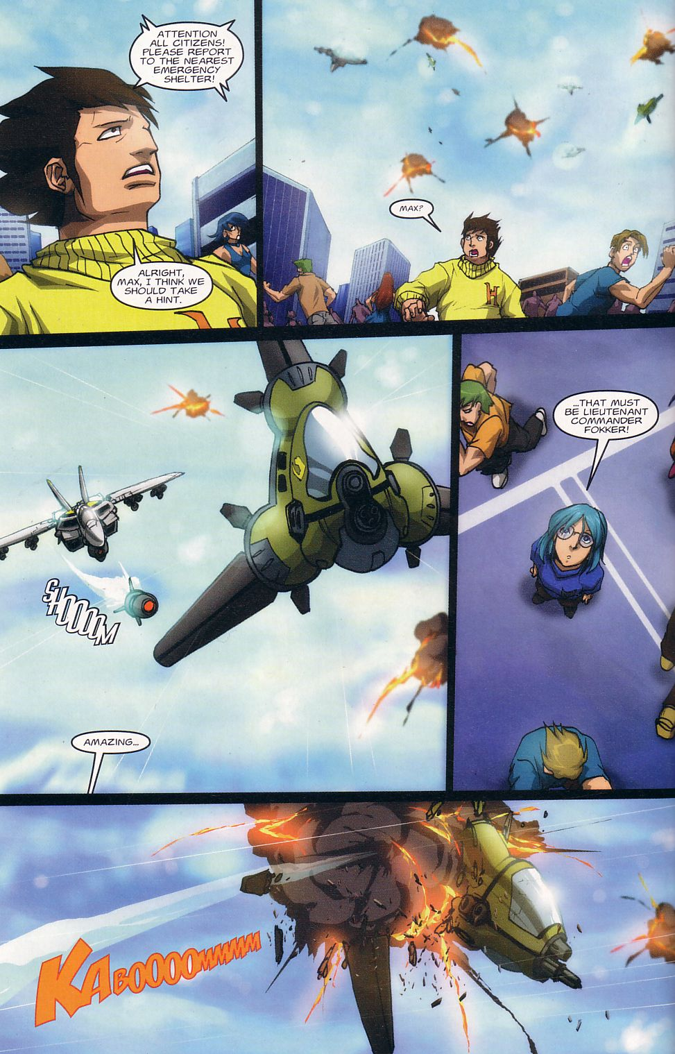 Read online Robotech: Love and War comic -  Issue #1 - 8