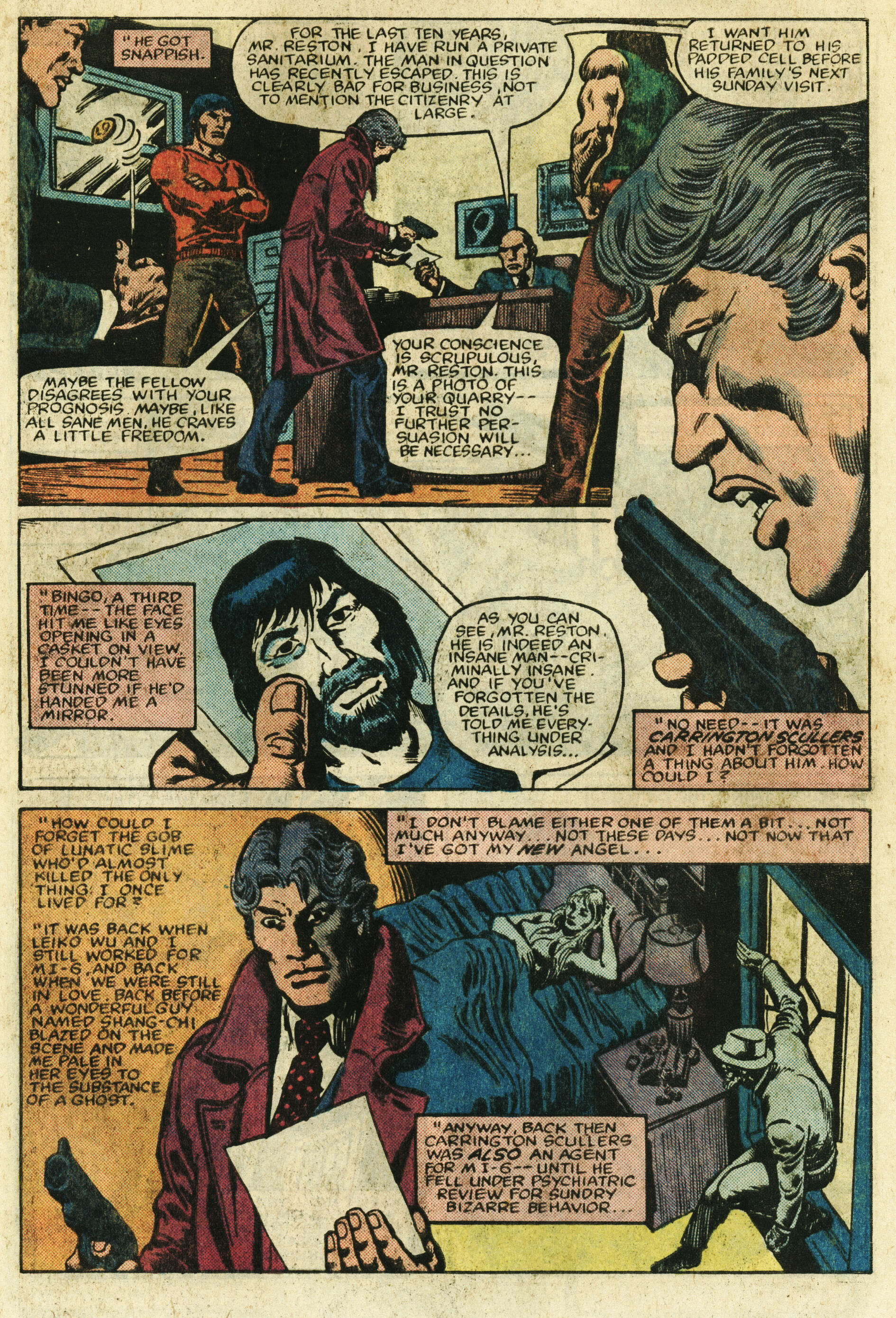 Read online Master of Kung Fu (1974) comic -  Issue #122 - 6