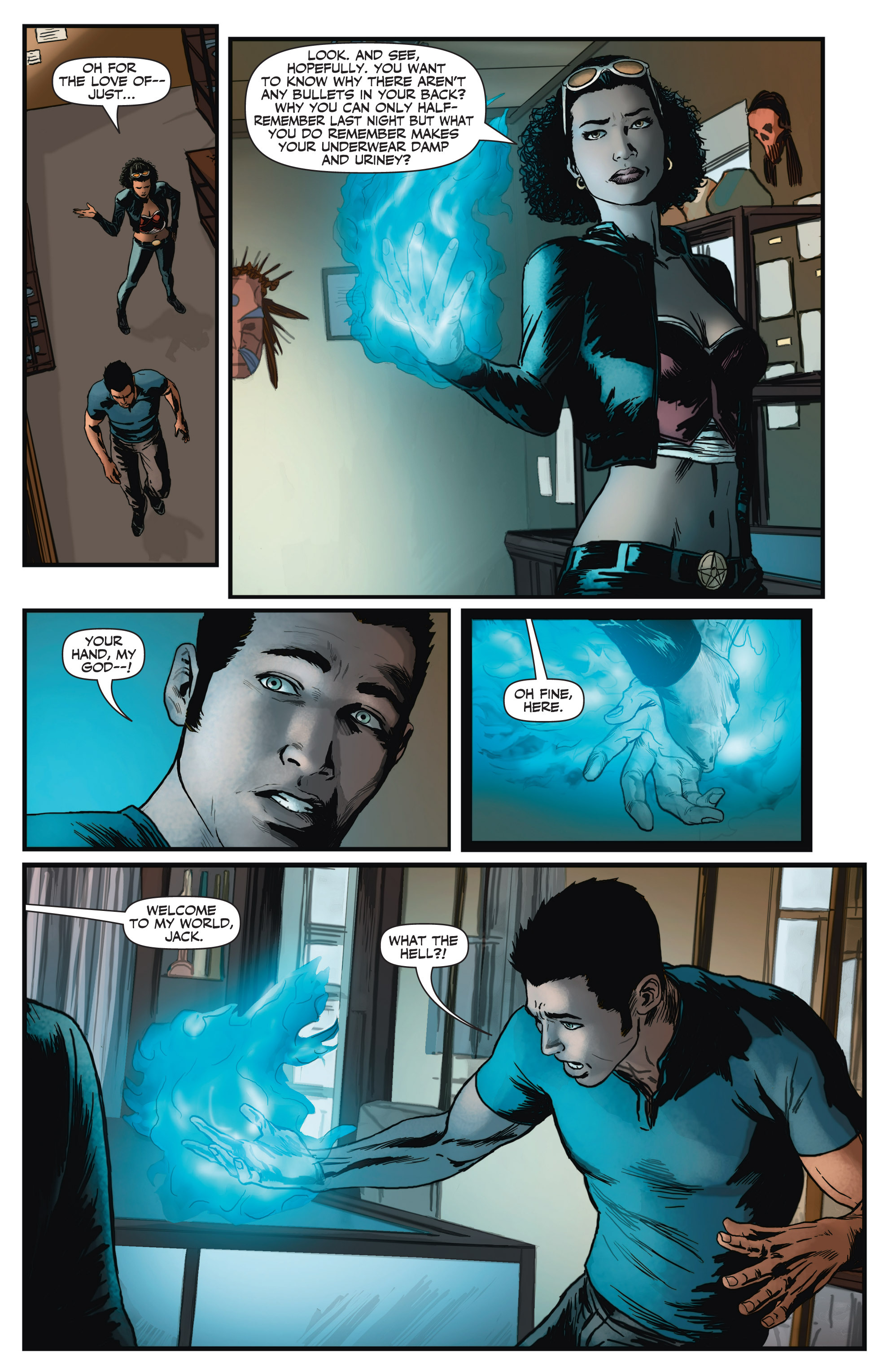Read online Shadowman (2012) comic -  Issue #2 - 20