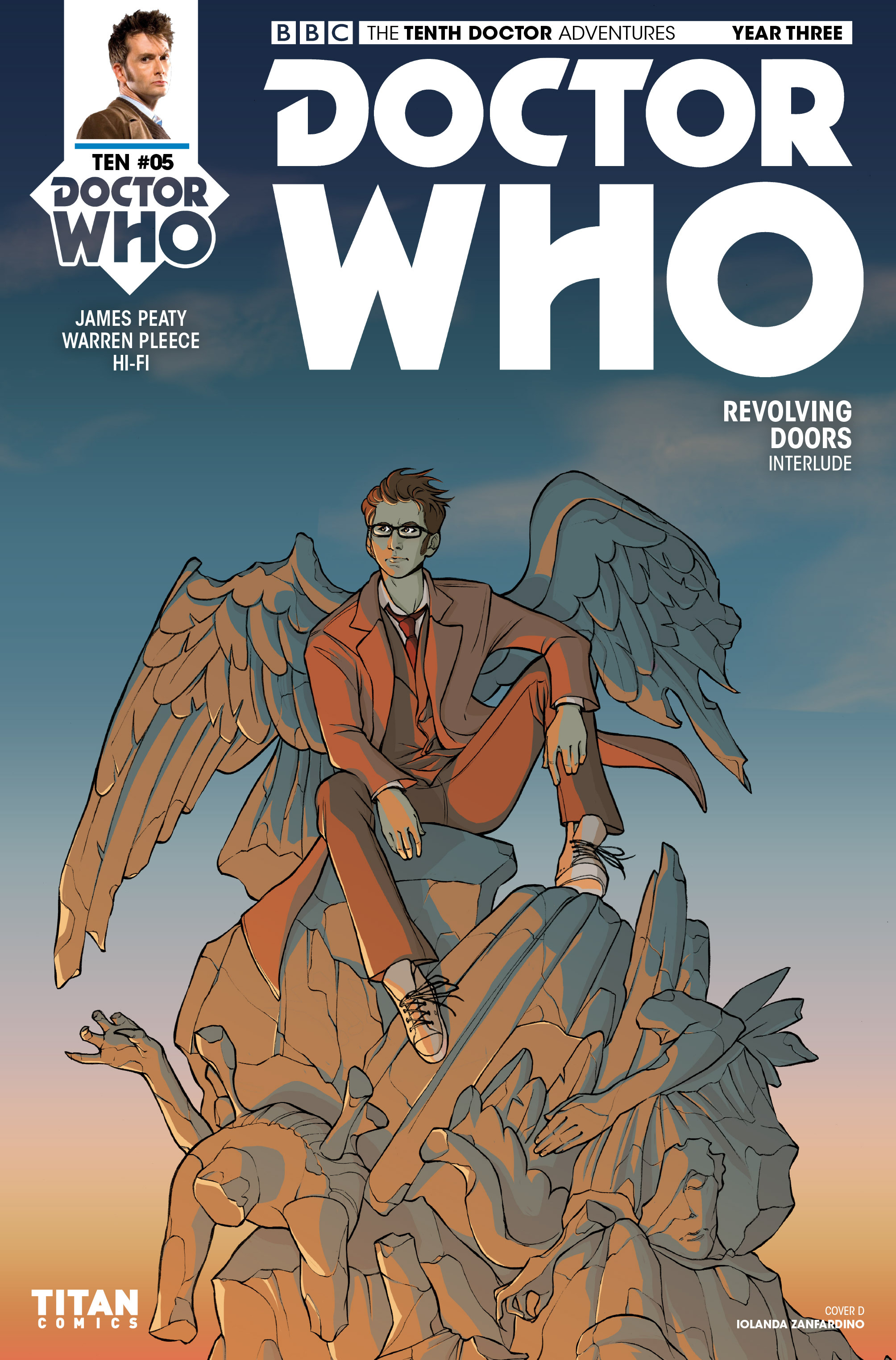 Read online Doctor Who: The Tenth Doctor Year Three comic -  Issue #5 - 4