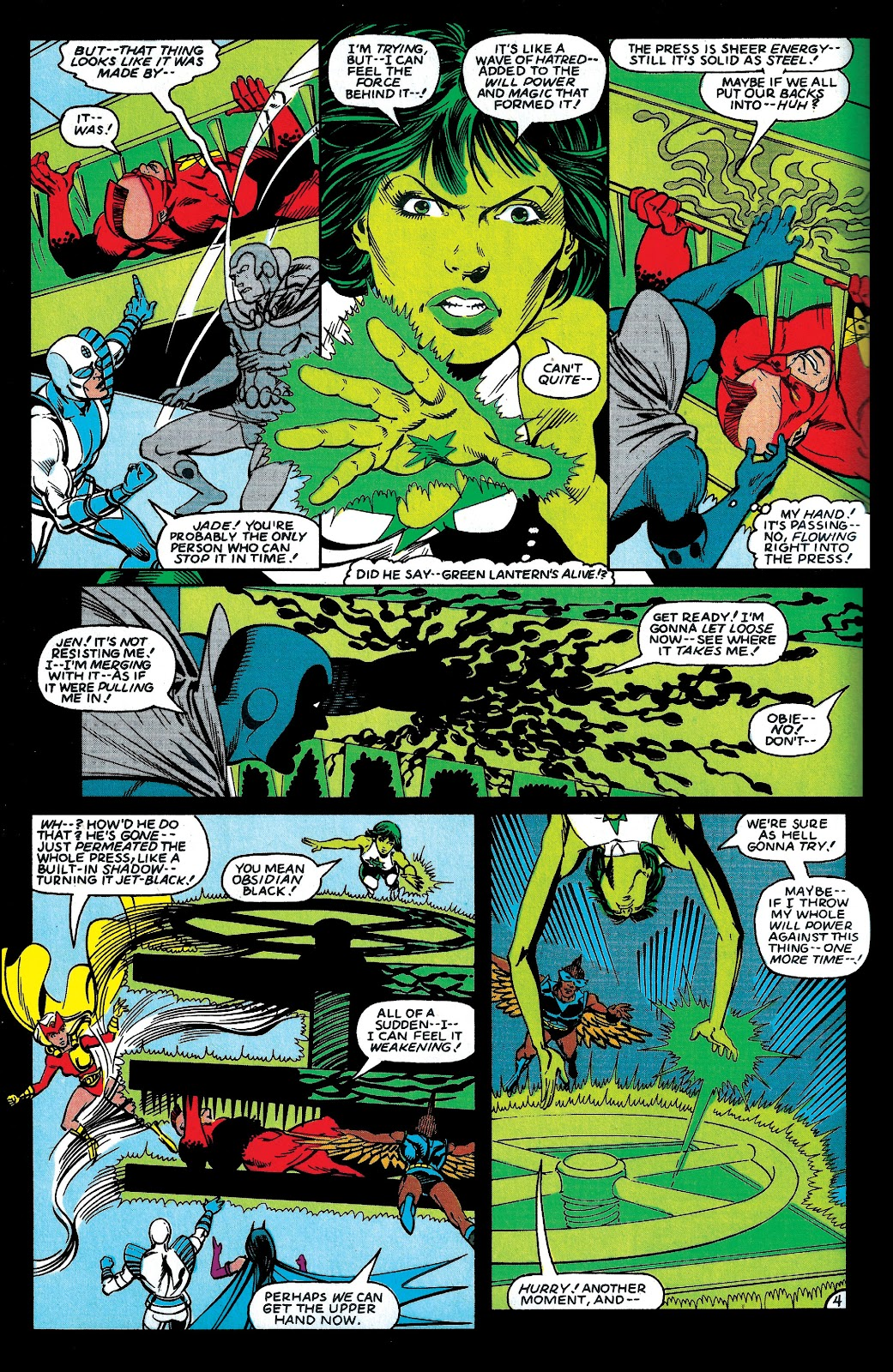 Infinity Inc. (1984) issue 6 - Page 5