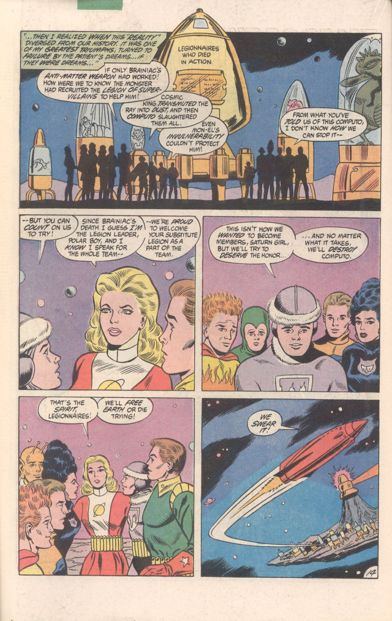 Legion of Super-Heroes (1980) 300 Page 14