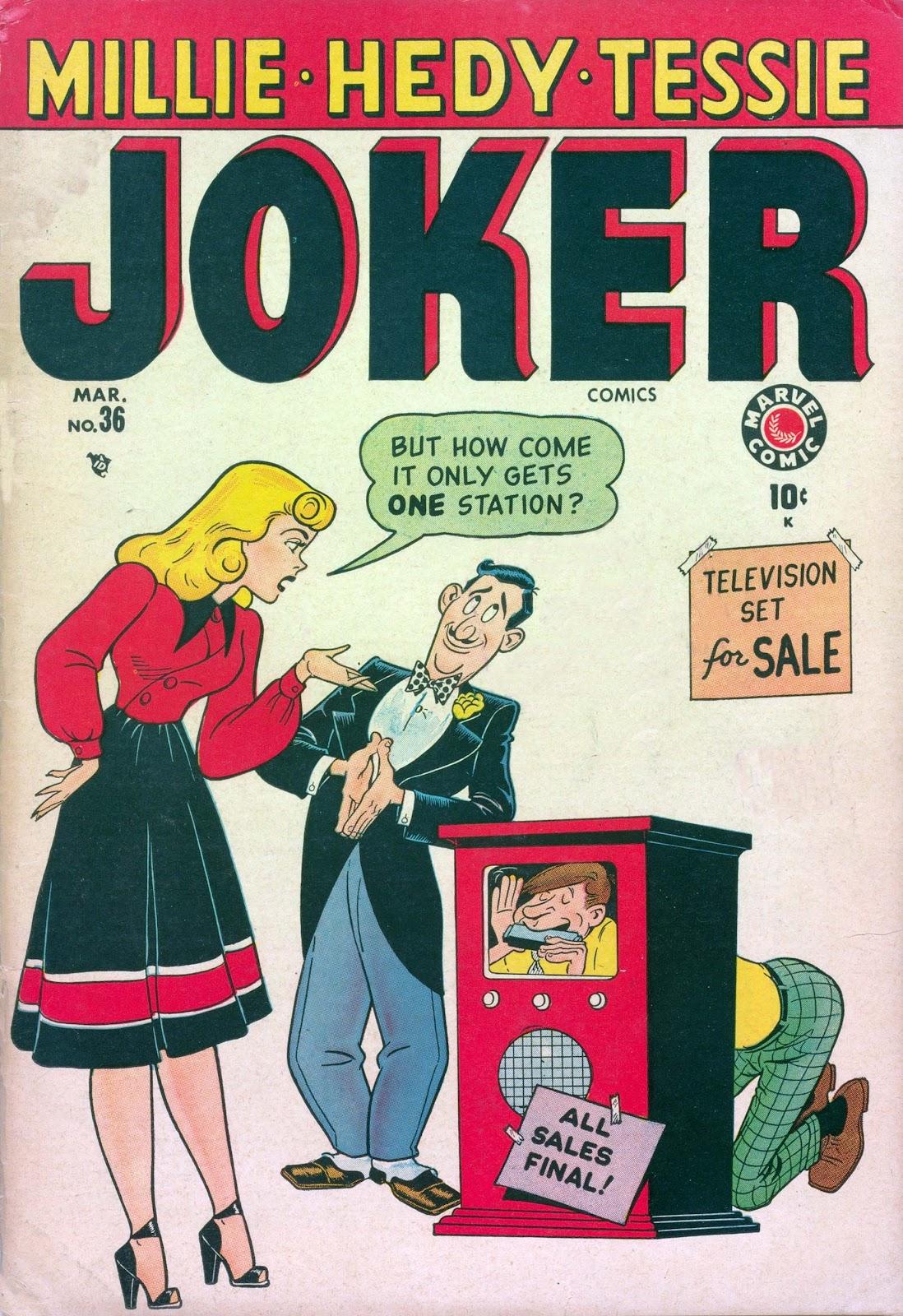 Read online Joker Comics comic -  Issue #36 - 1
