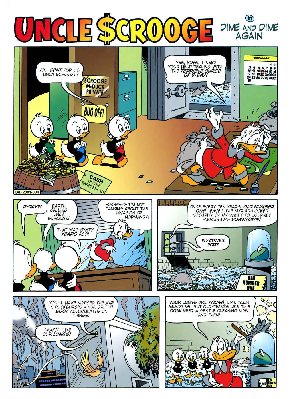 Read online Uncle Scrooge (1953) comic -  Issue #321 - 49