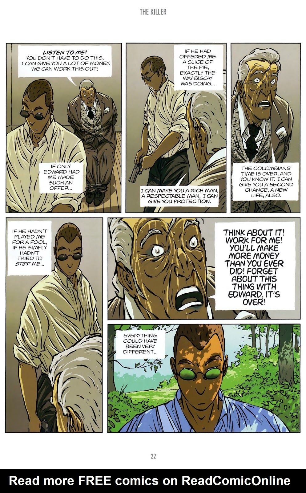 Read online The Killer comic -  Issue #10 - 22