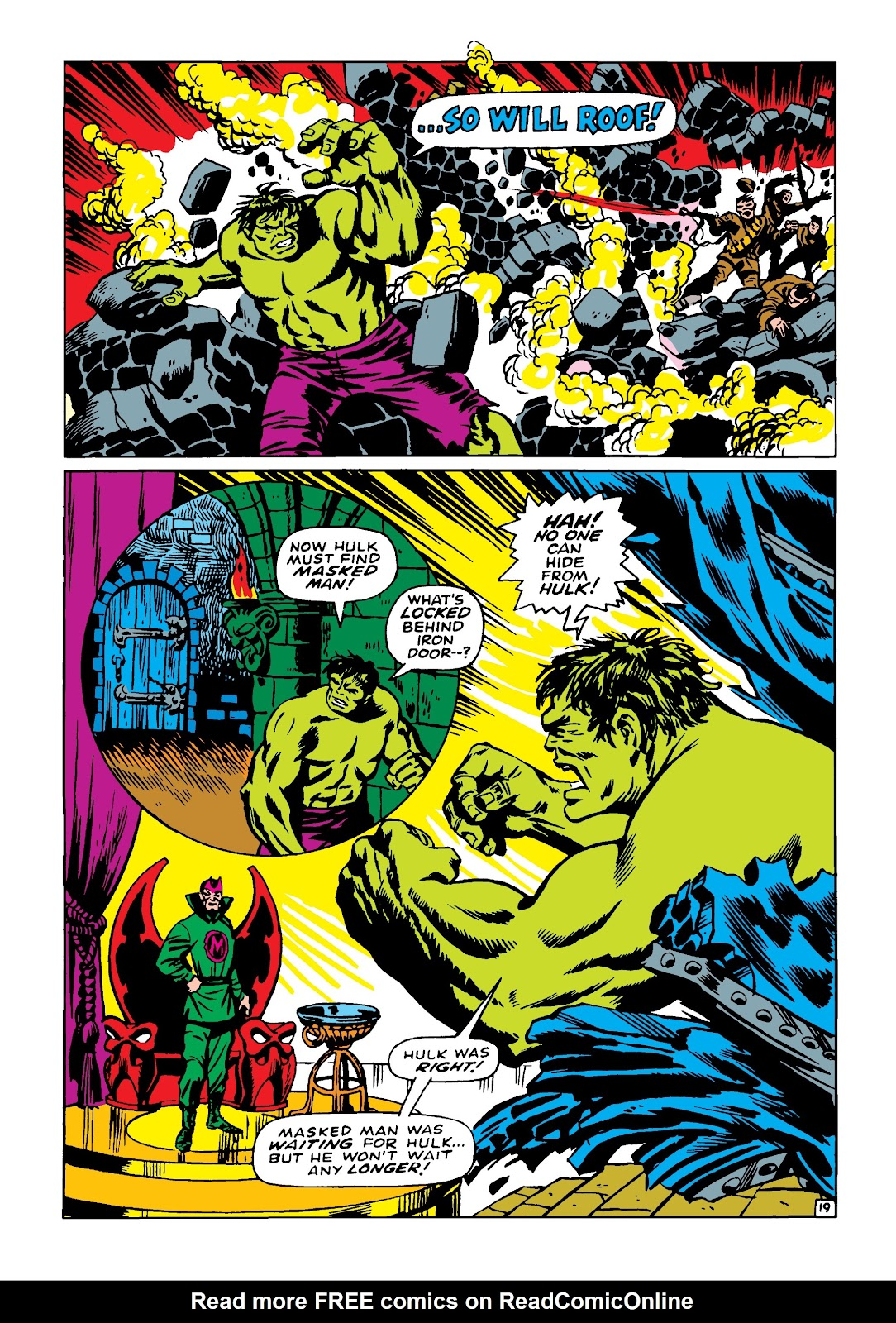 Read online Marvel Masterworks: The Incredible Hulk comic -  Issue # TPB 4 (Part 2) - 10