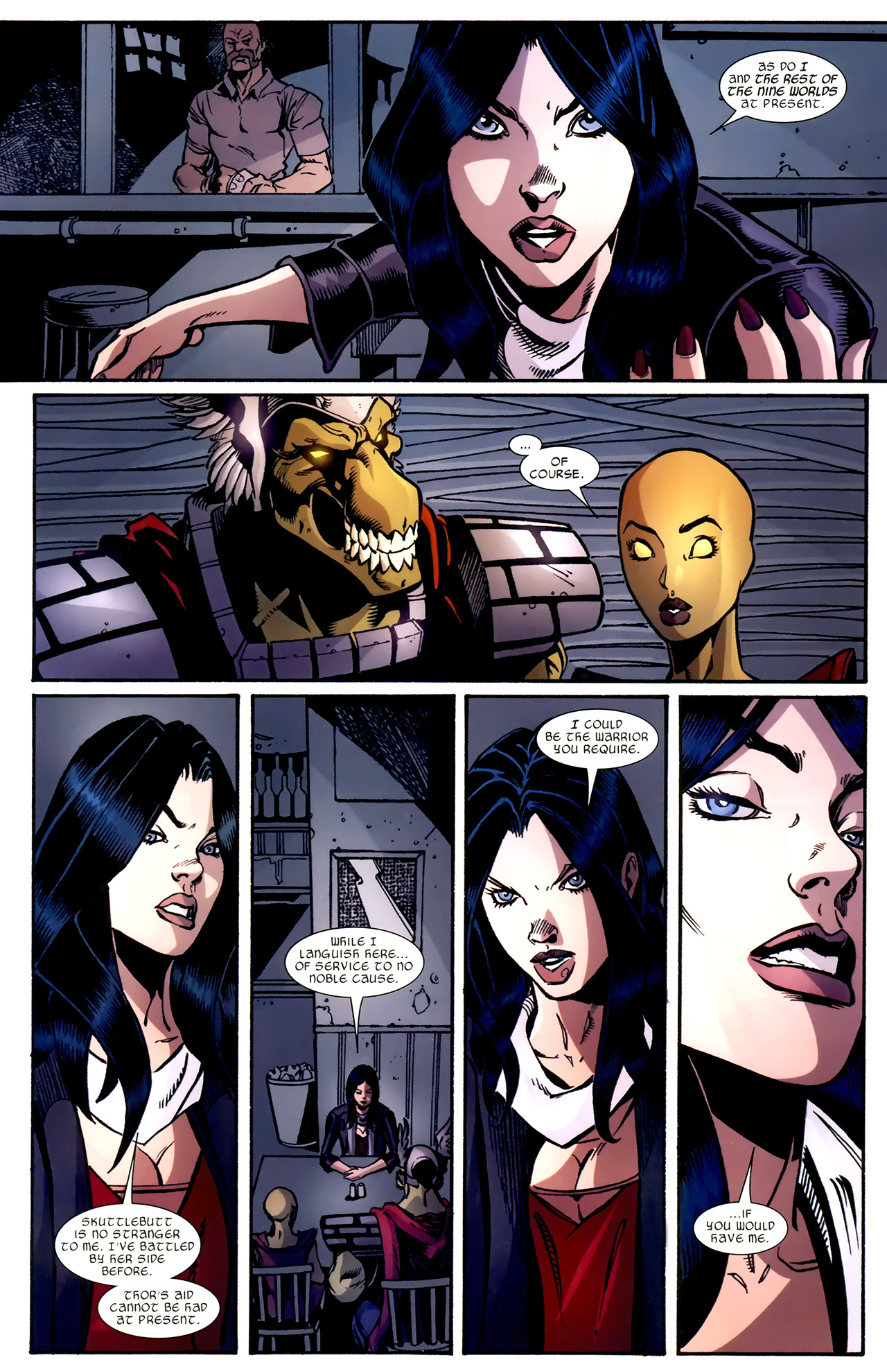 Read online Sif comic -  Issue # Full - 10