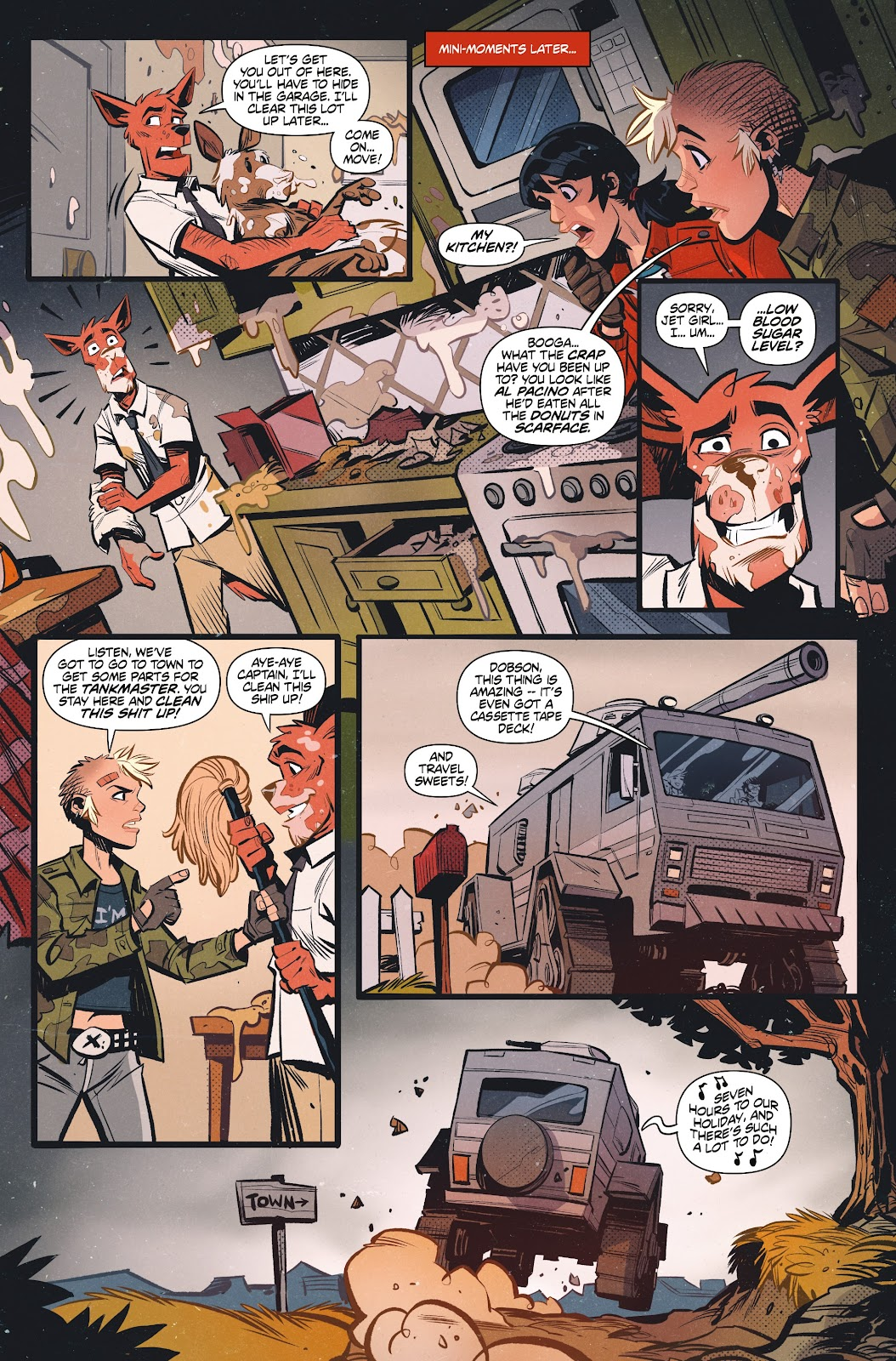 Read online Tank Girl Ongoing comic -  Issue #1 - 16