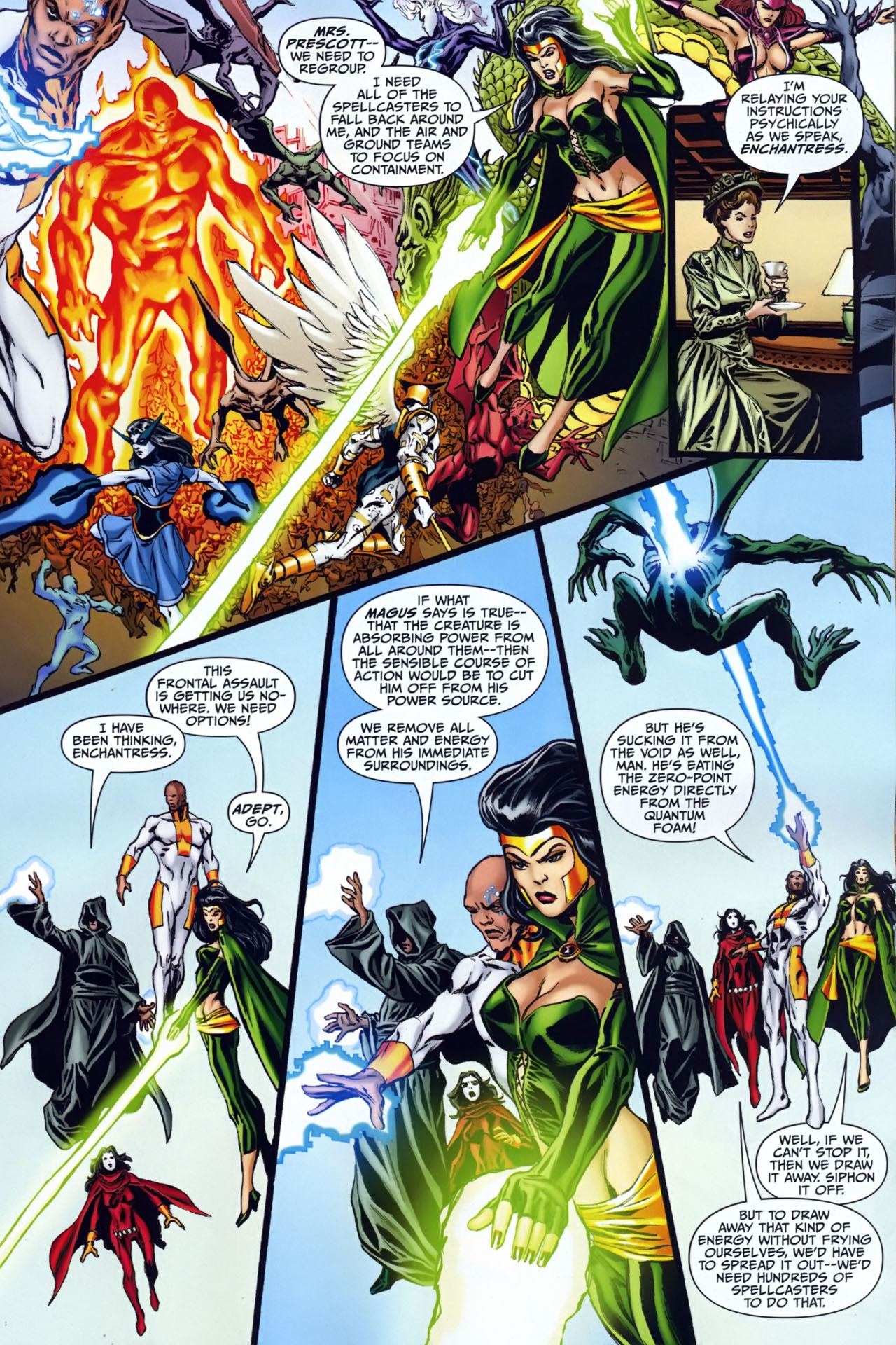 Read online Shadowpact comic -  Issue #25 - 8