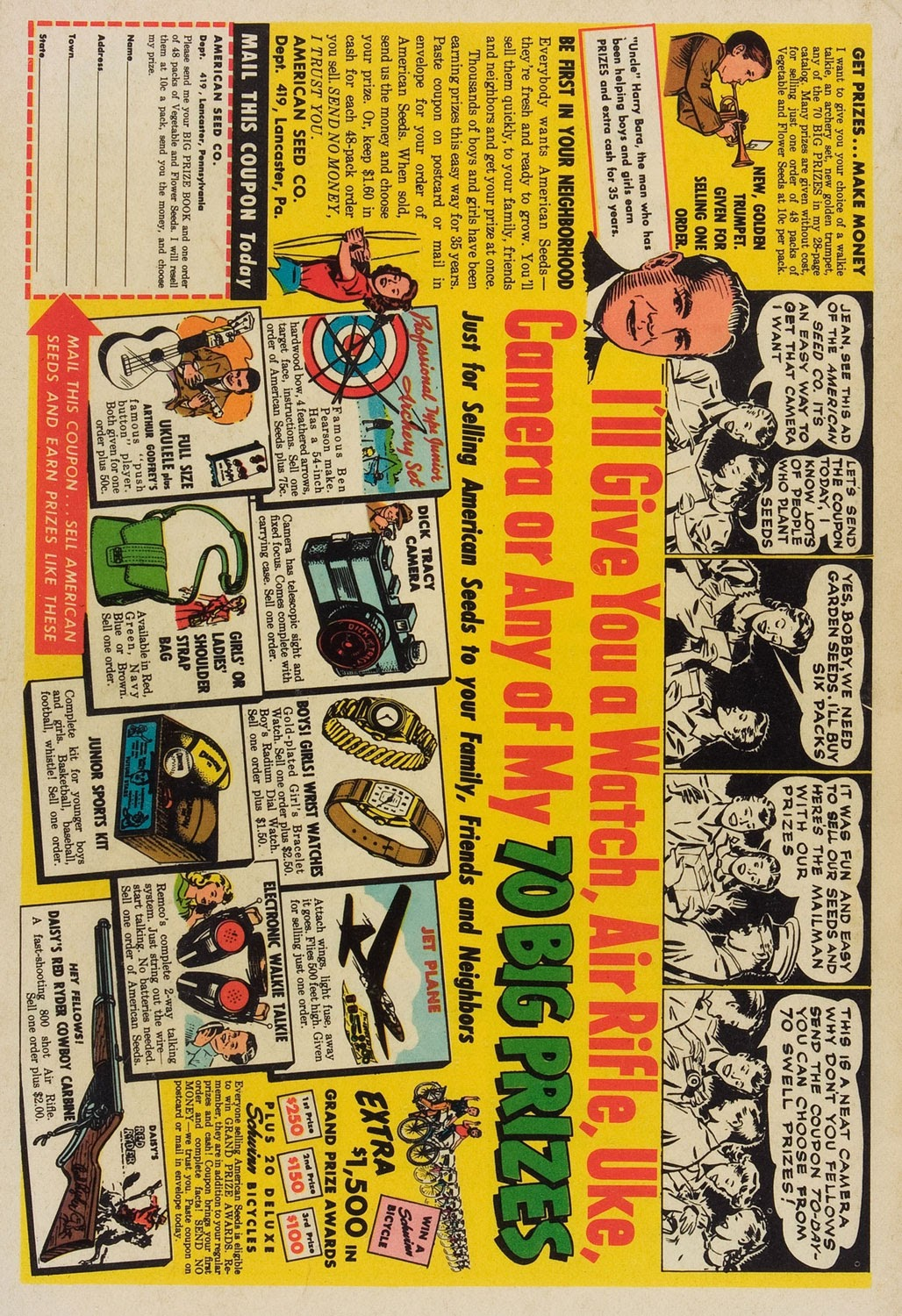 Read online Famous Funnies comic -  Issue #211 - 36