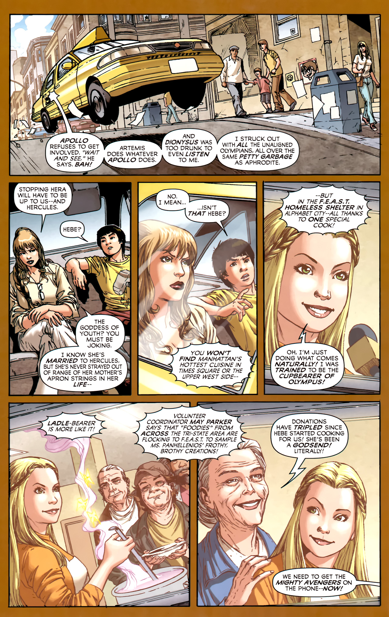 Read online Assault on New Olympus Prologue comic -  Issue #Assault on New Olympus Prologue Full - 9