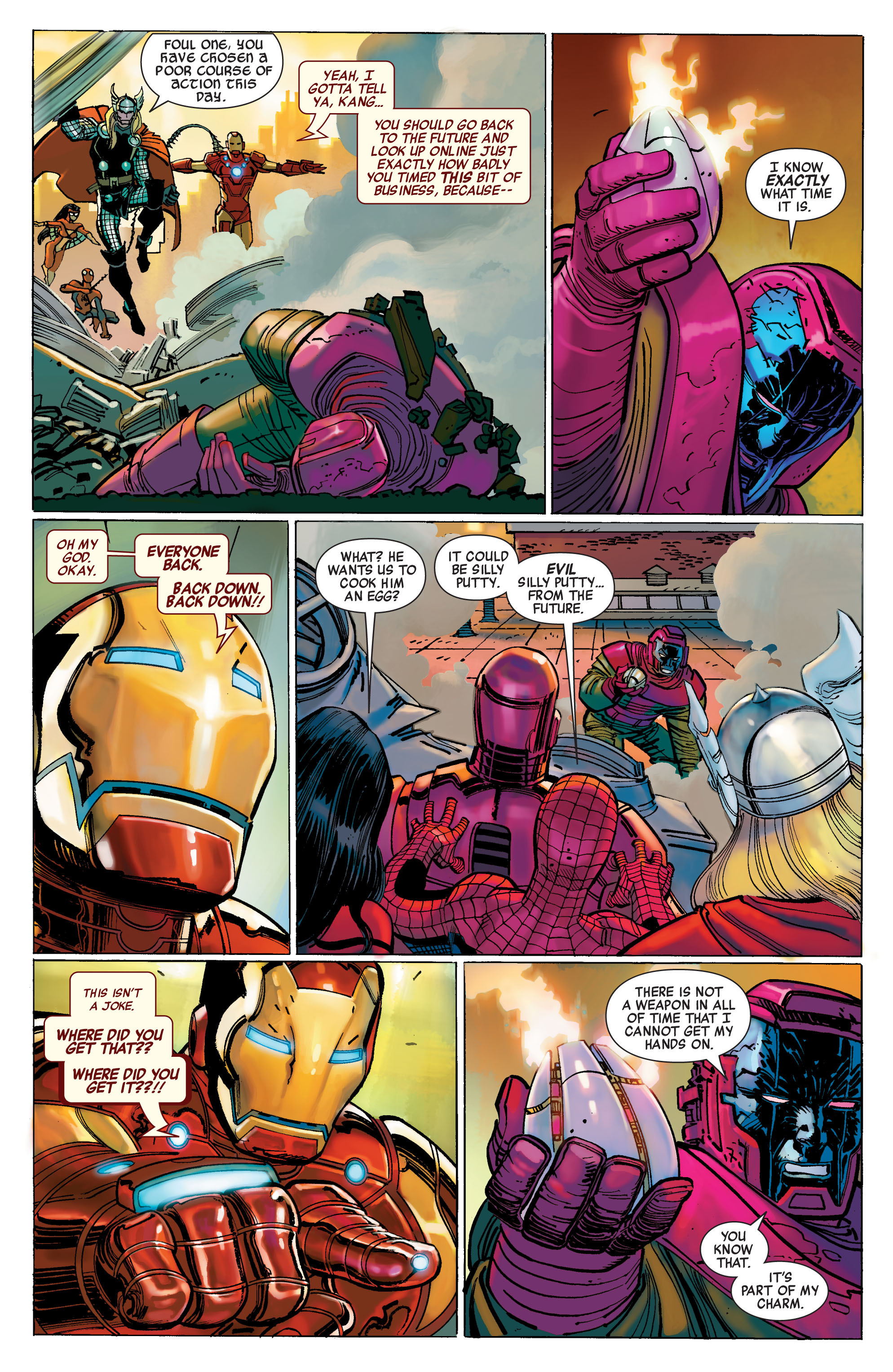 Read online Avengers (2010) comic -  Issue #1 - 13