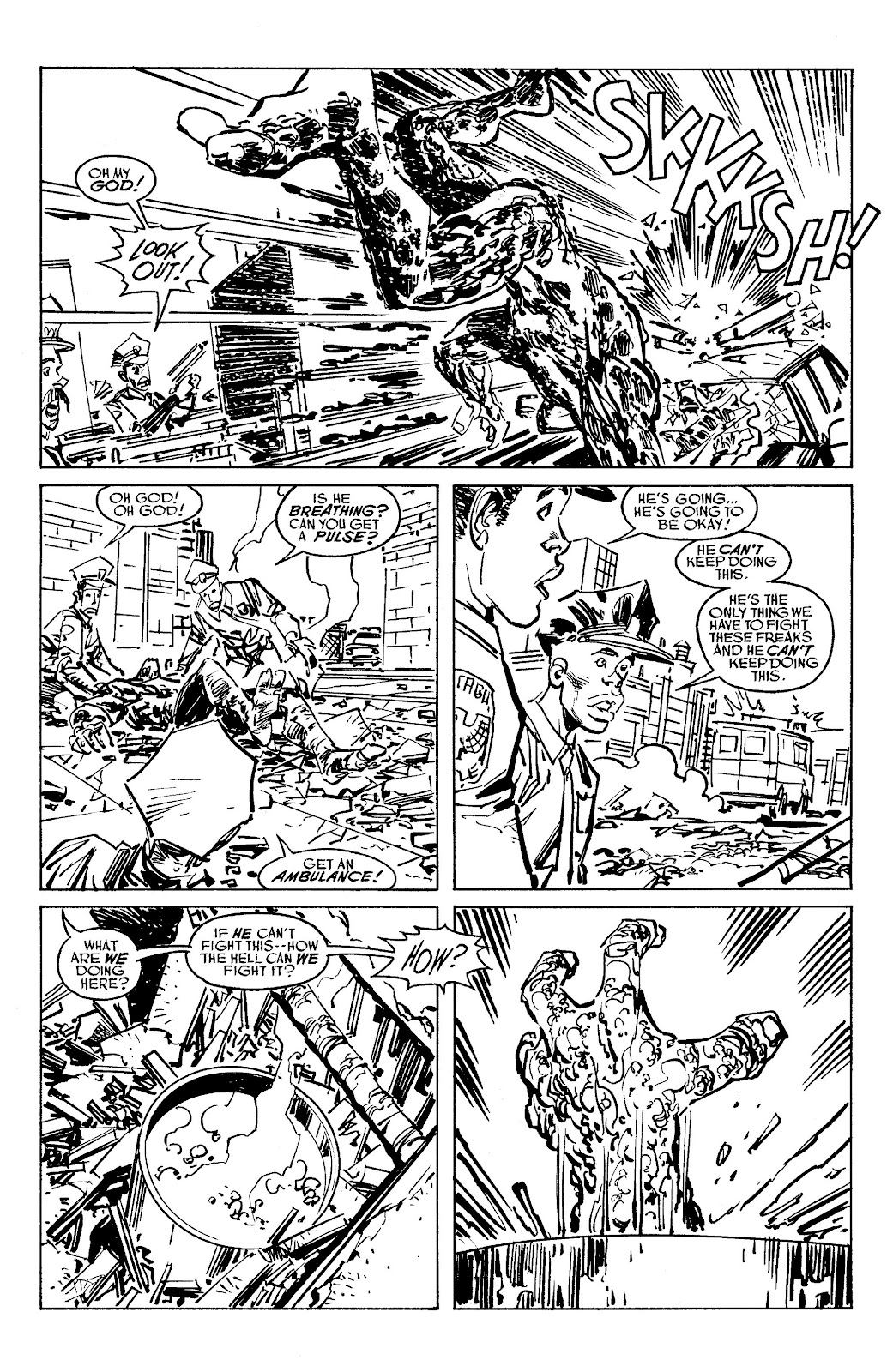 Read online Savage Dragon Archives comic -  Issue # TPB 6 (Part 5) - 19
