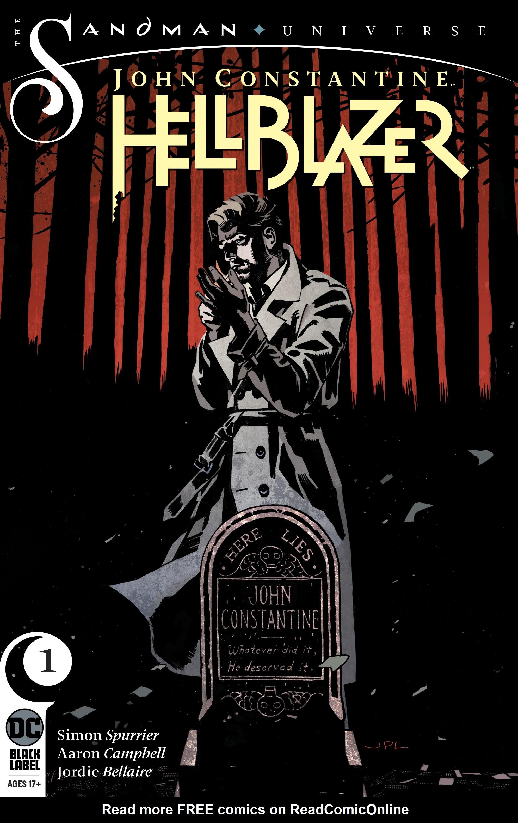 John Constantine: Hellblazer issue 1 - Page 1