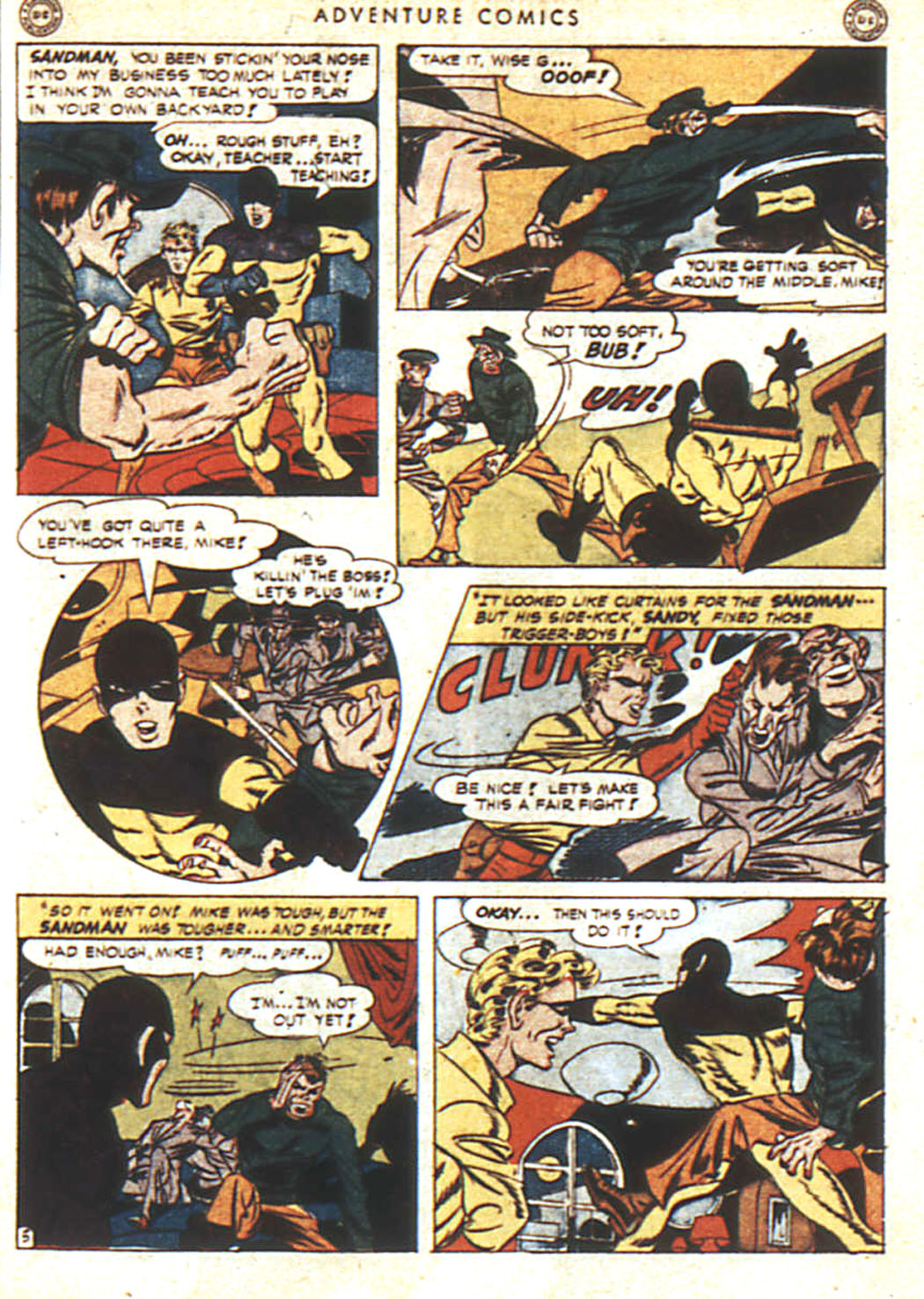 Read online Adventure Comics (1938) comic -  Issue #92 - 6