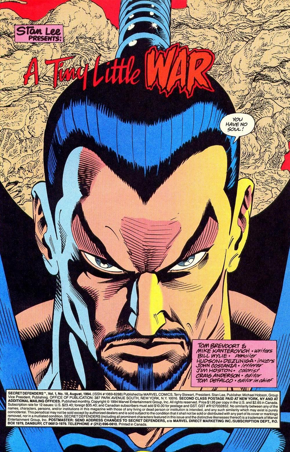 Read online Secret Defenders comic -  Issue #18 - 3