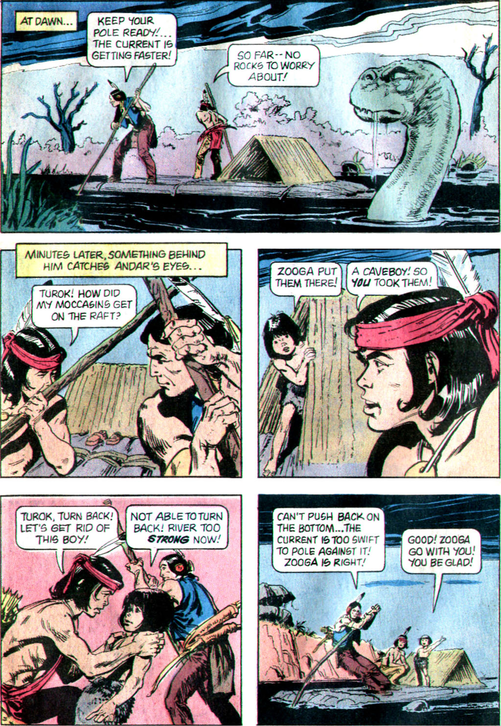 Read online Turok, Son of Stone comic -  Issue #122 - 26