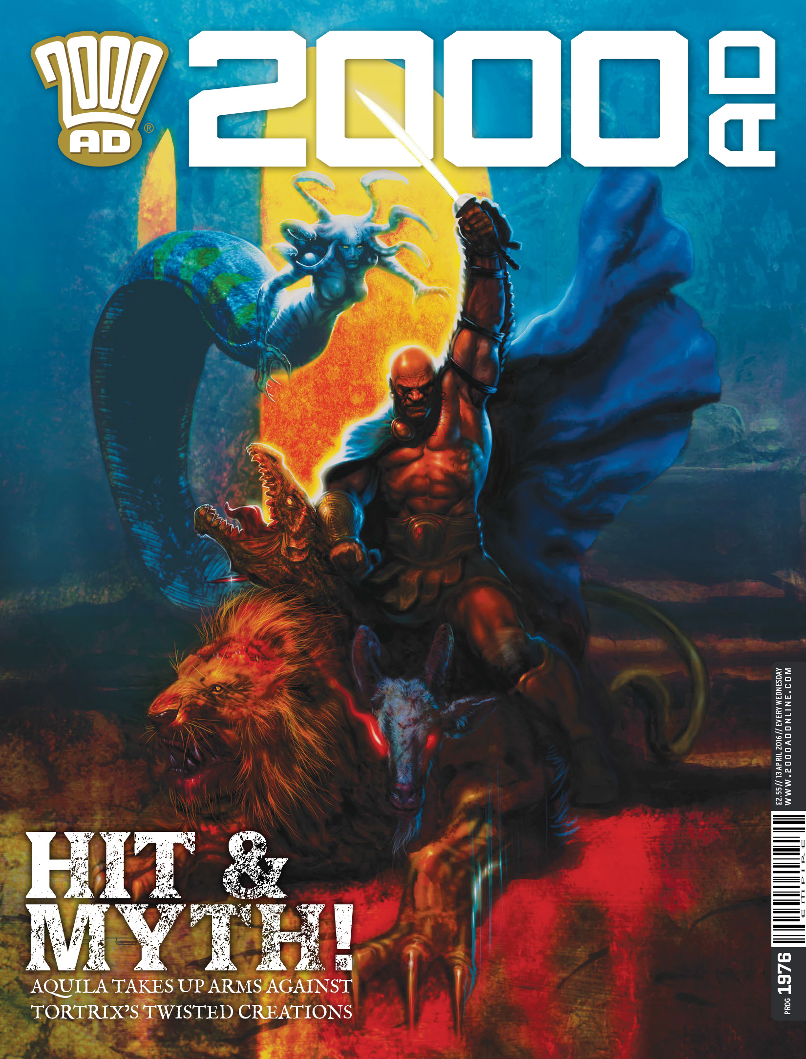 Read online 2000 AD comic -  Issue #1976 - 1