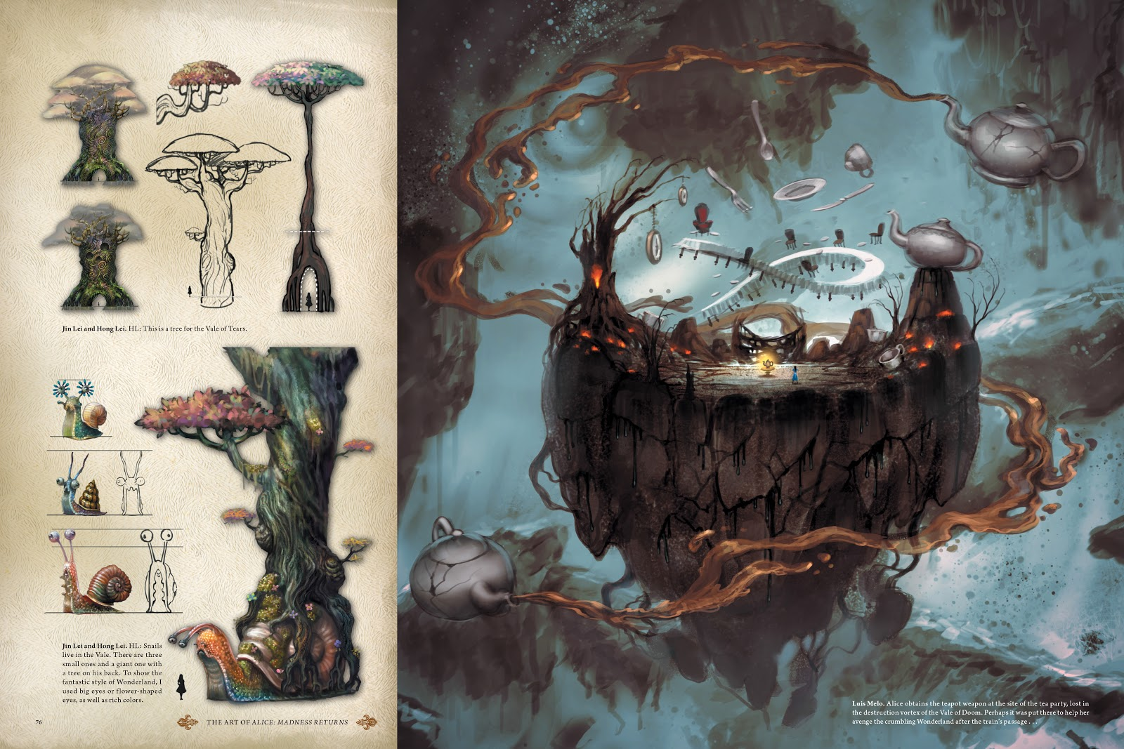 Read online The Art of Alice: Madness Returns comic -  Issue # TPB (Part 1) - 68