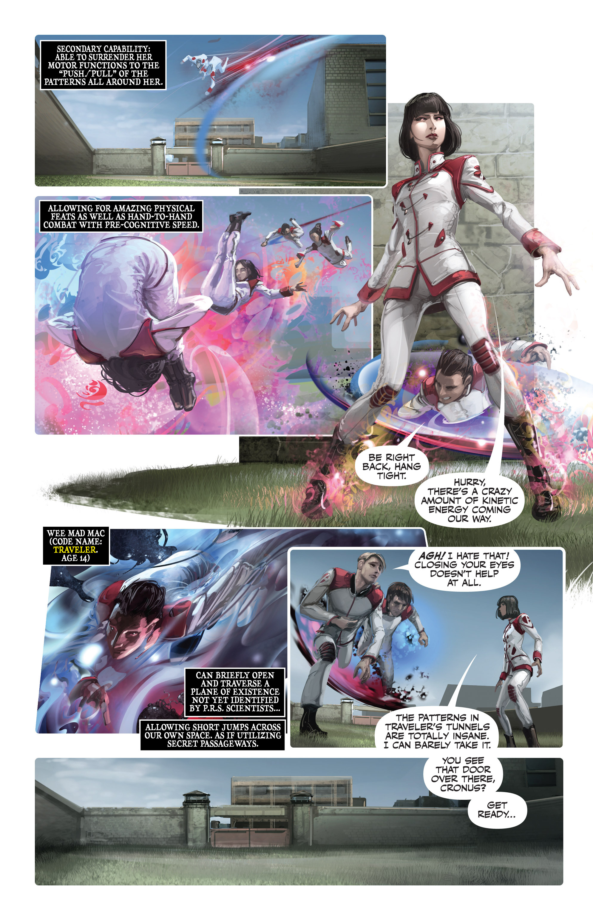Read online Armor Hunters: Harbinger comic -  Issue # TPB - 82