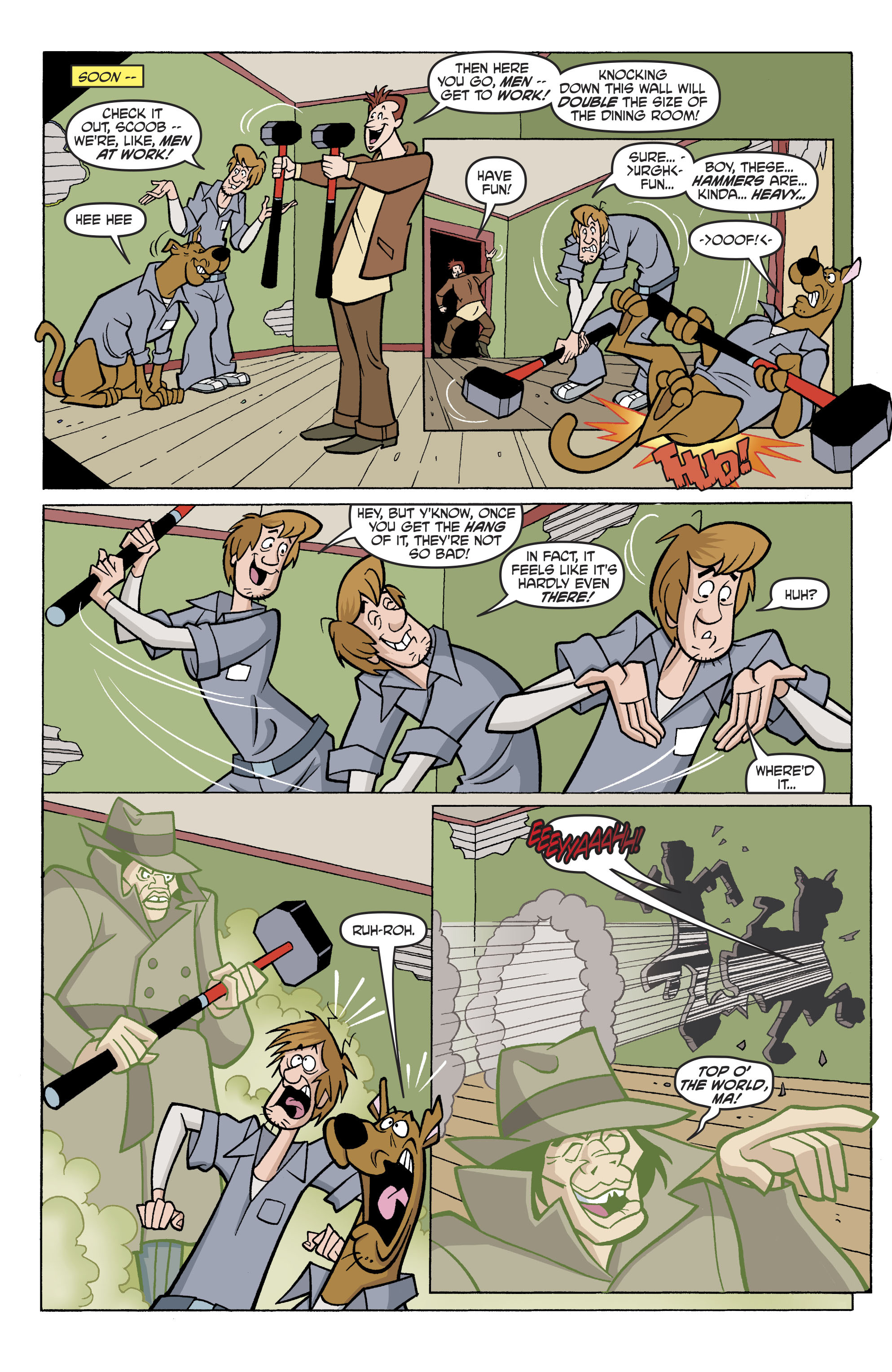 Read online Scooby-Doo: Where Are You? comic -  Issue #81 - 17