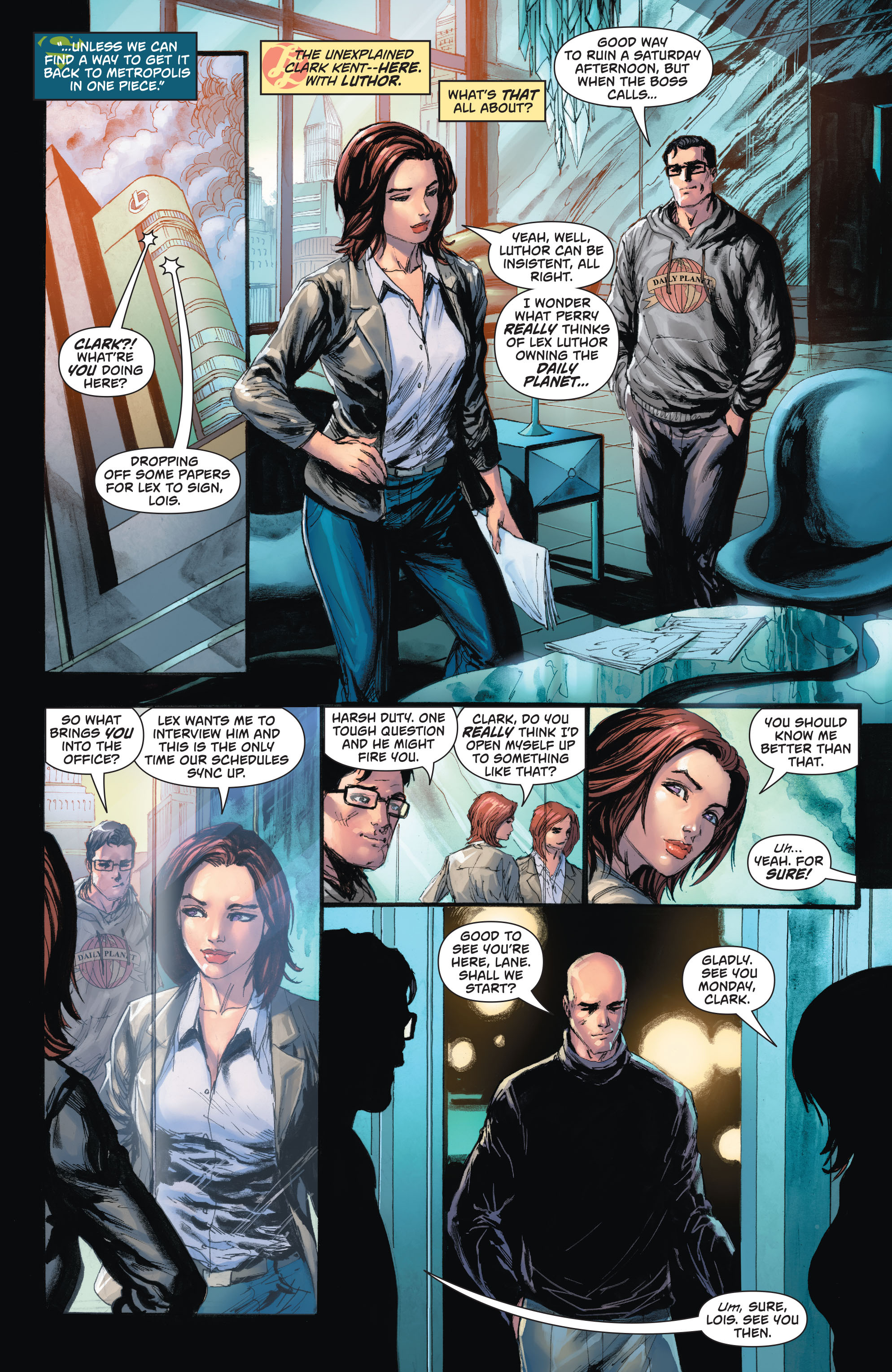 Read online Action Comics (2016) comic -  Issue #967 - 11