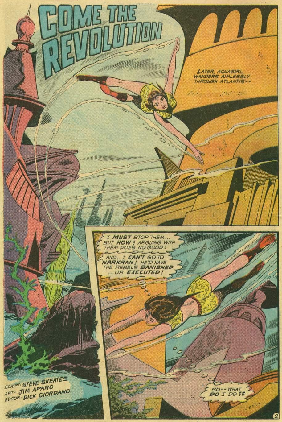 Read online Aquaman (1962) comic -  Issue #47 - 4
