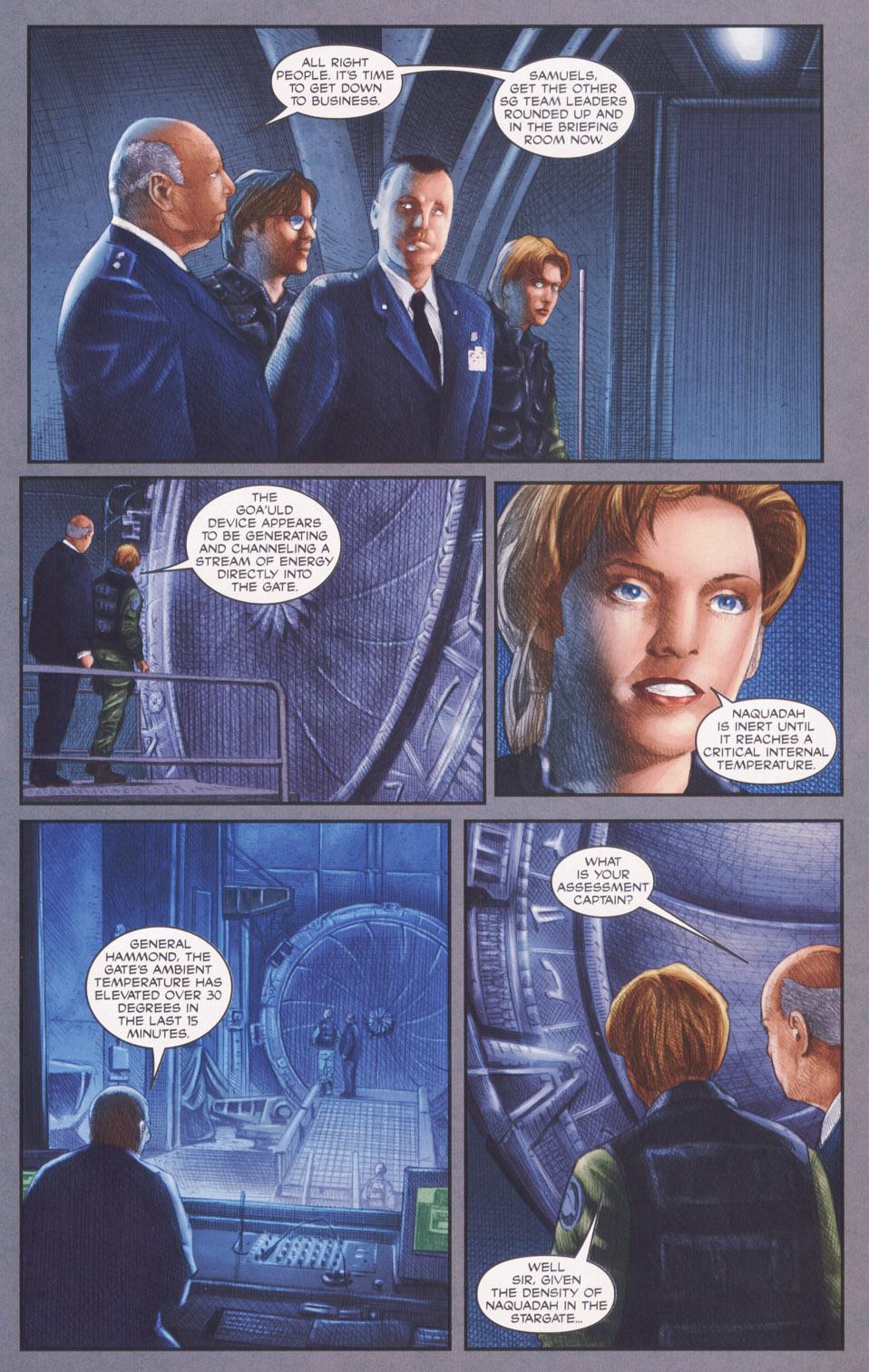 Read online Stargate SG-1: POW comic -  Issue #2 - 5