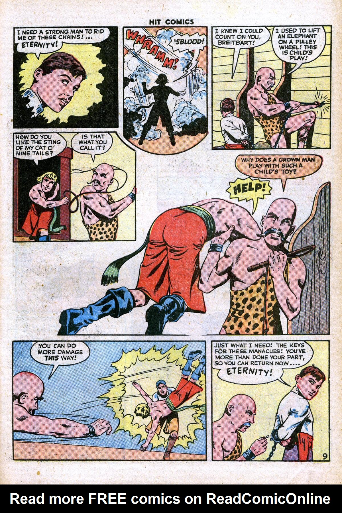 Read online Hit Comics comic -  Issue #41 - 11