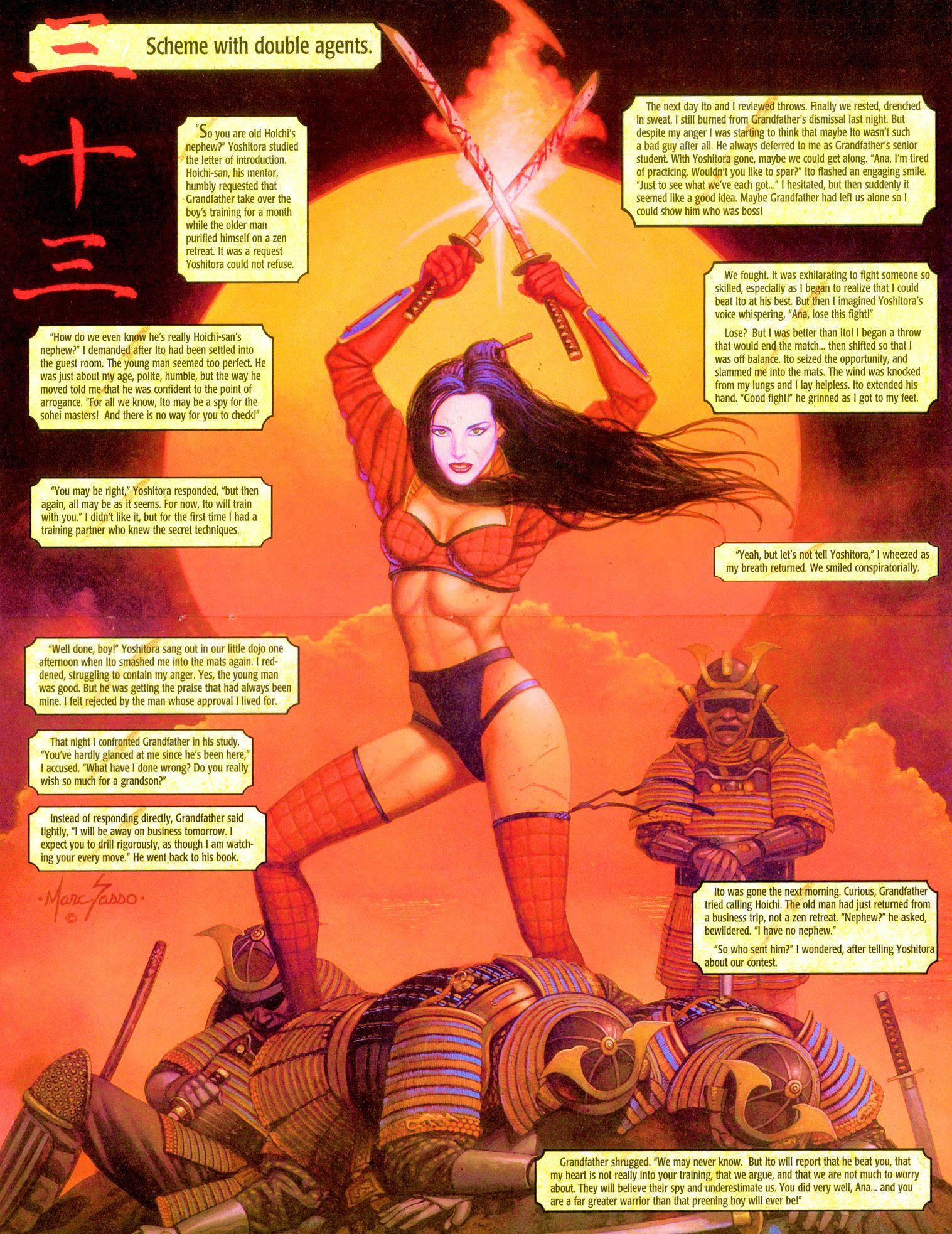 Read online Shi: Senryaku comic -  Issue #3 - 12