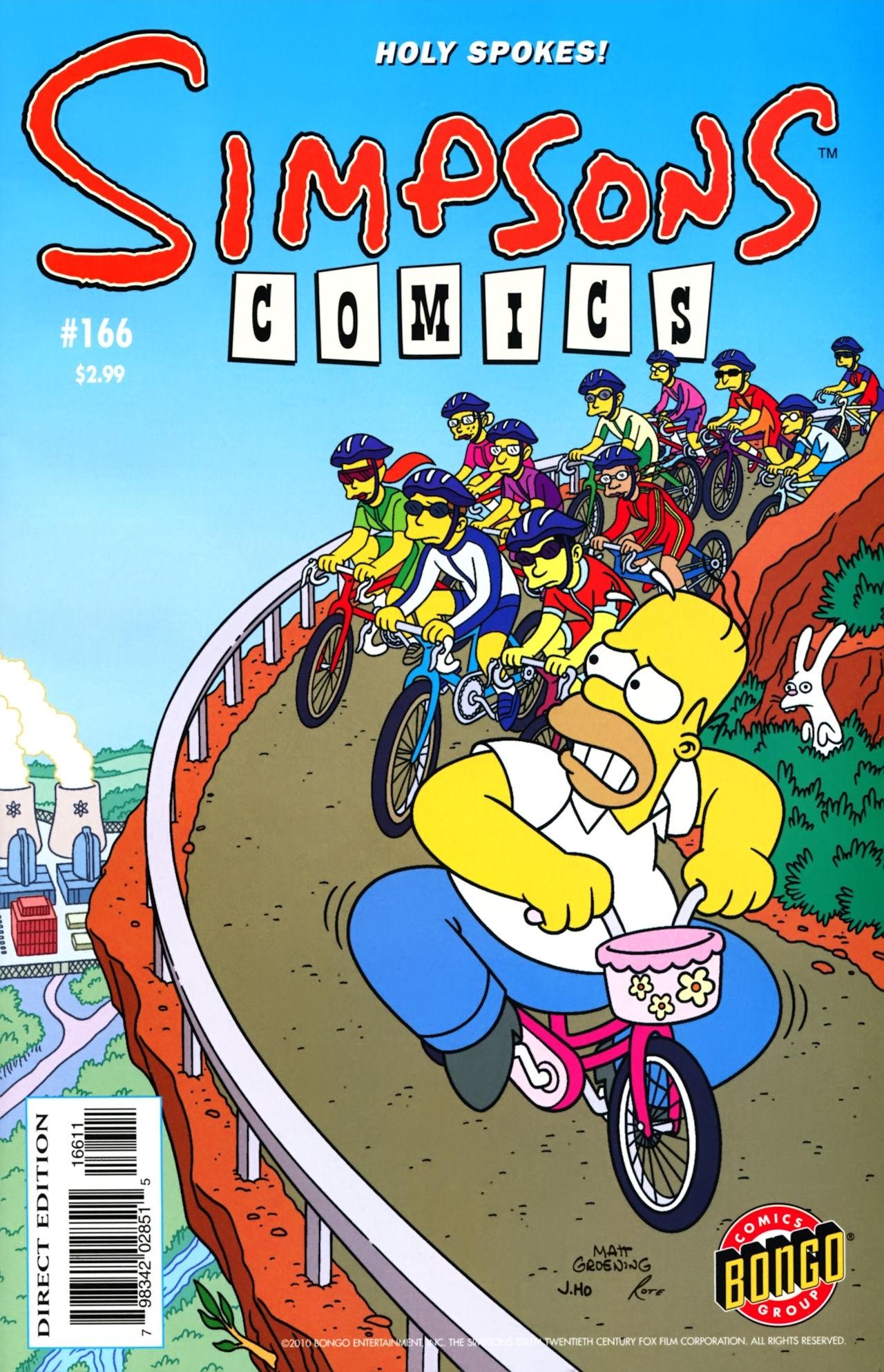 Read online Simpsons Comics comic -  Issue #166 - 1