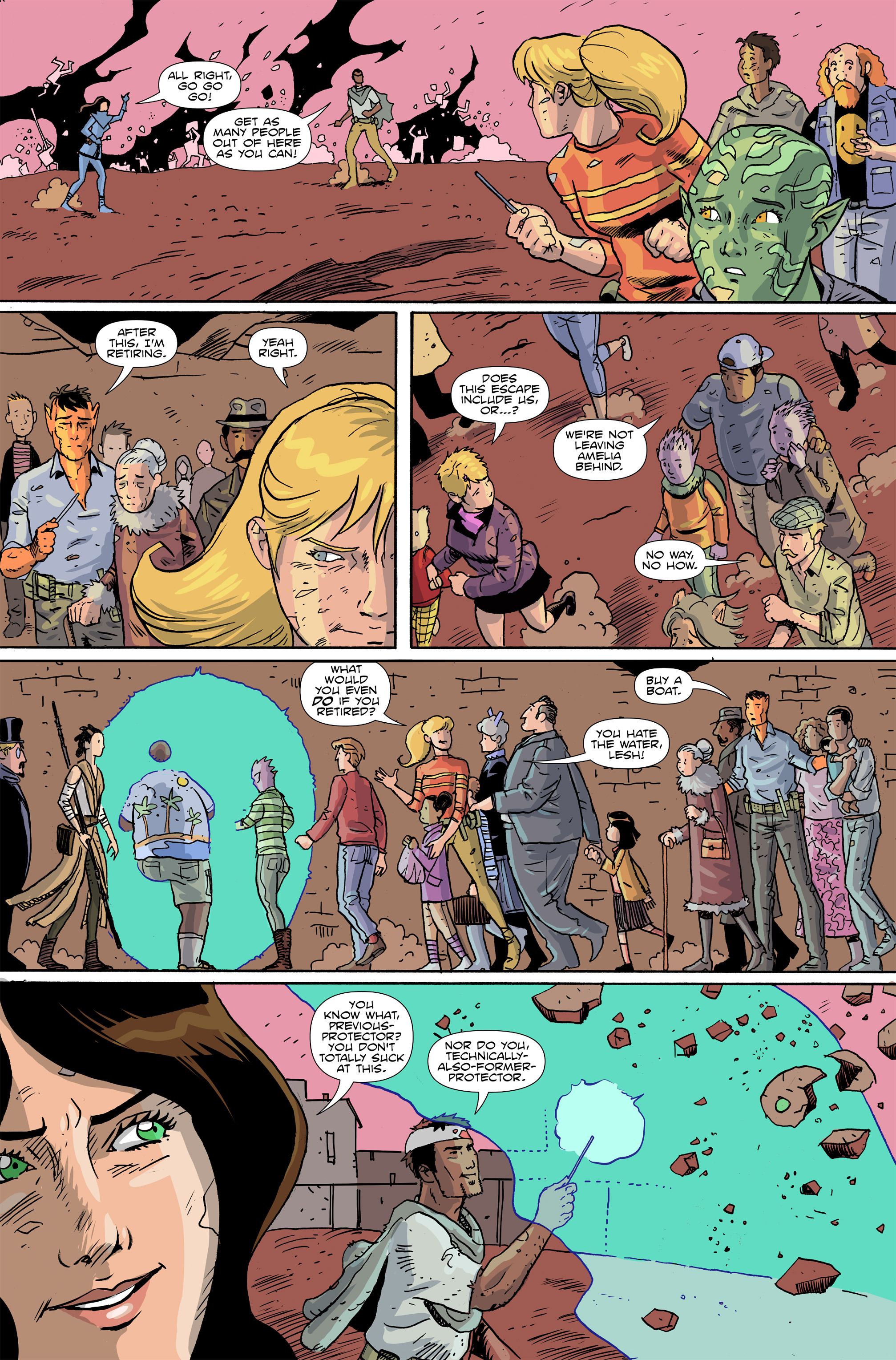 Read online Amelia Cole Versus The End of Everything comic -  Issue #28 - 7