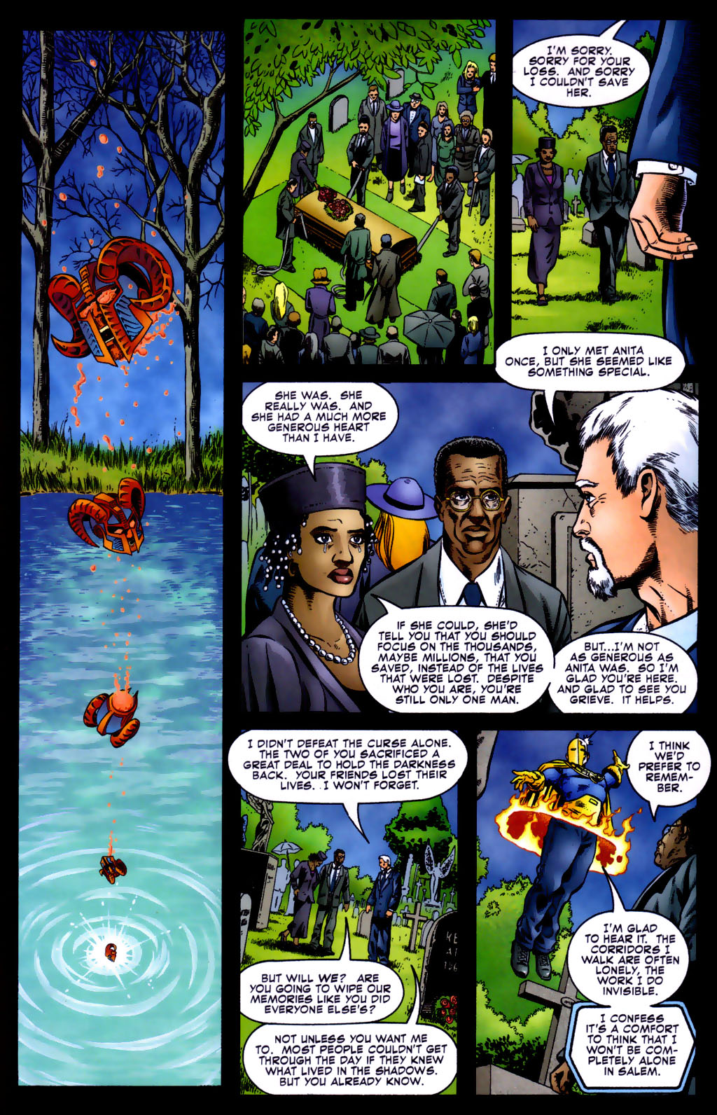 Read online Doctor Fate (2003) comic -  Issue #5 - 19