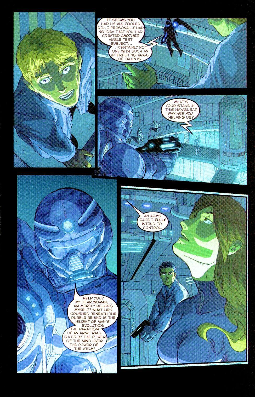 Darkminds (1998) Issue #8 #9 - English 14