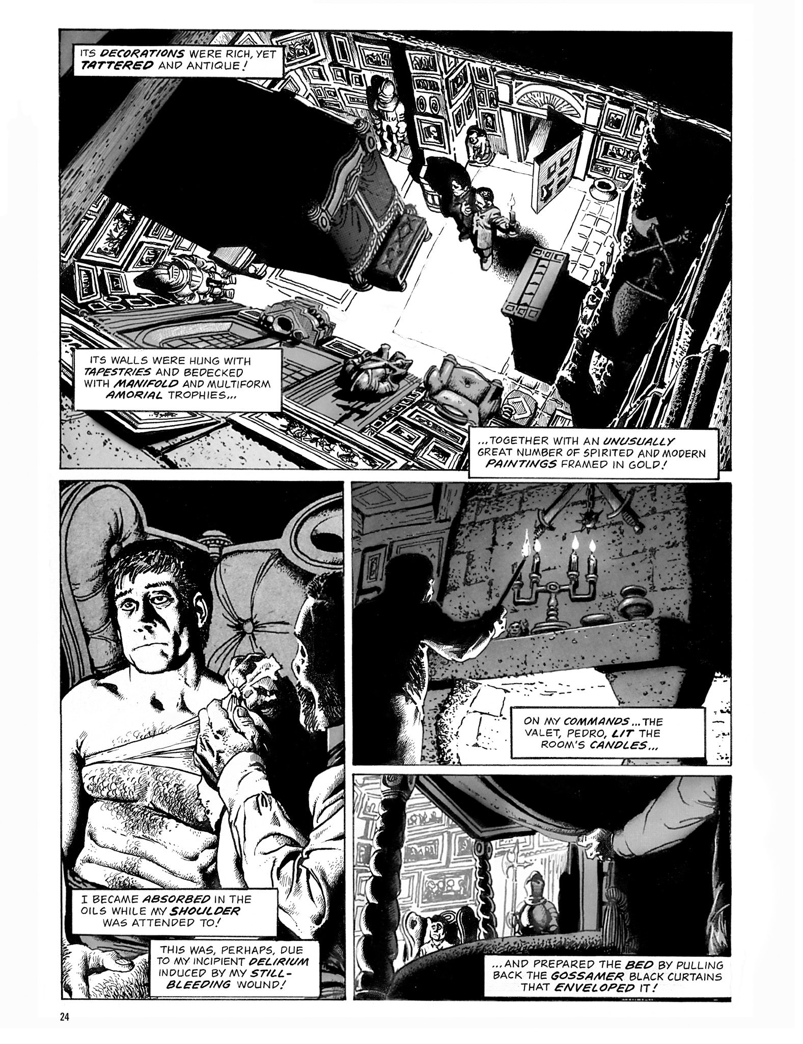 Read online Eerie Archives comic -  Issue # TPB 18 - 25