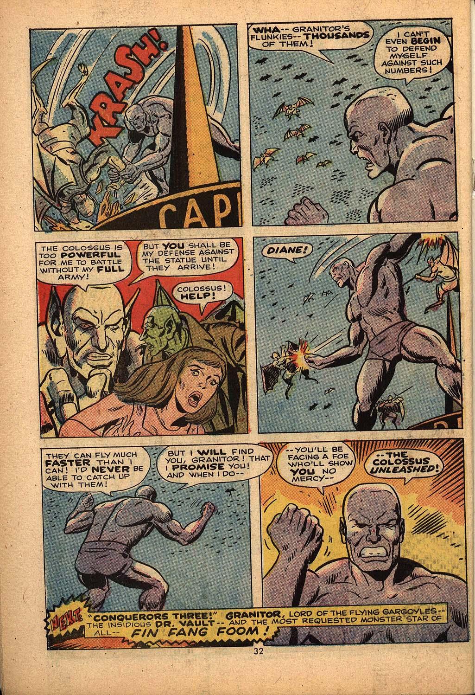 Read online Astonishing Tales (1970) comic -  Issue #22 - 21