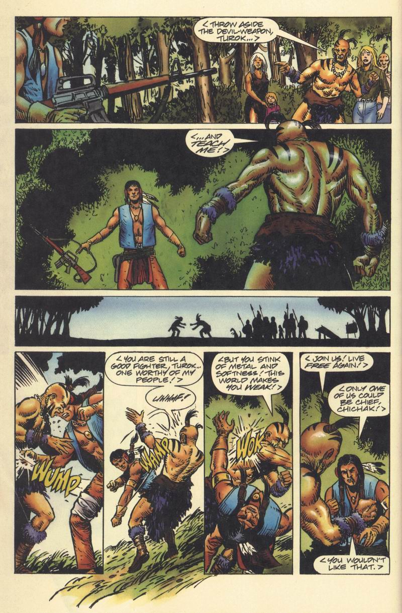 Read online Turok, Dinosaur Hunter (1993) comic -  Issue #9 - 18