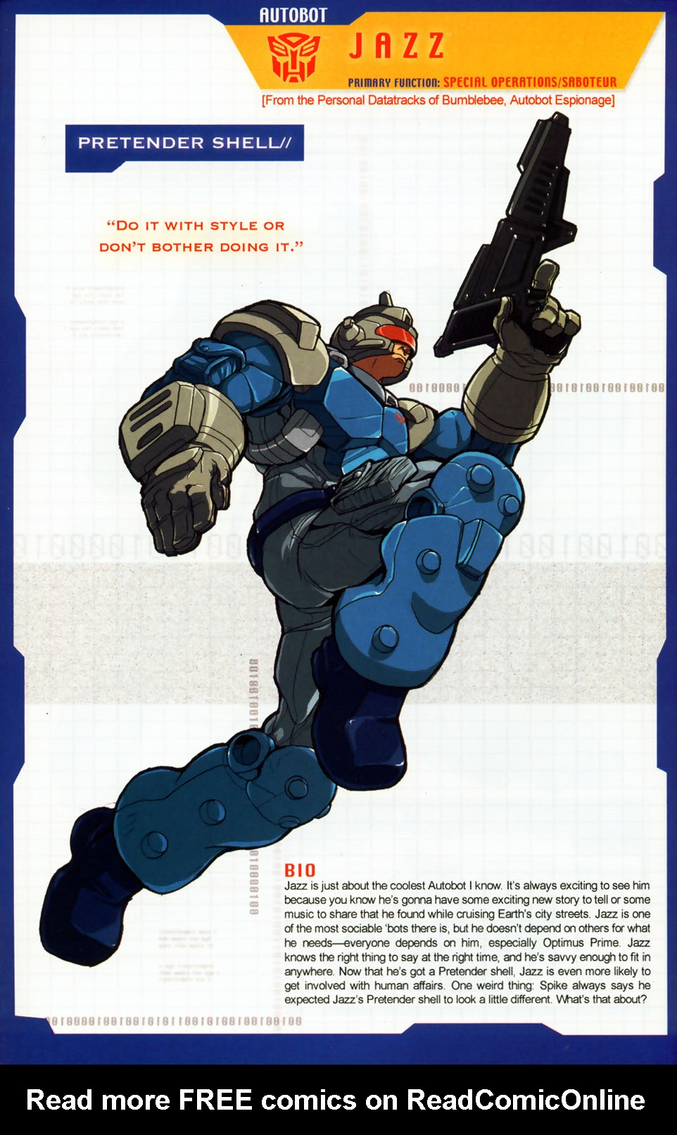 Read online Transformers: More than Meets the Eye comic -  Issue #7 - 59