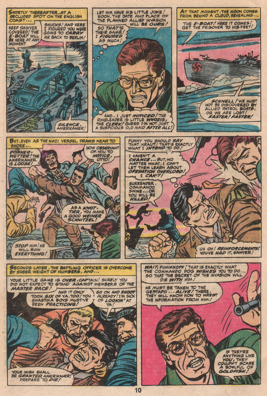 Read online Sgt. Fury comic -  Issue #133 - 12