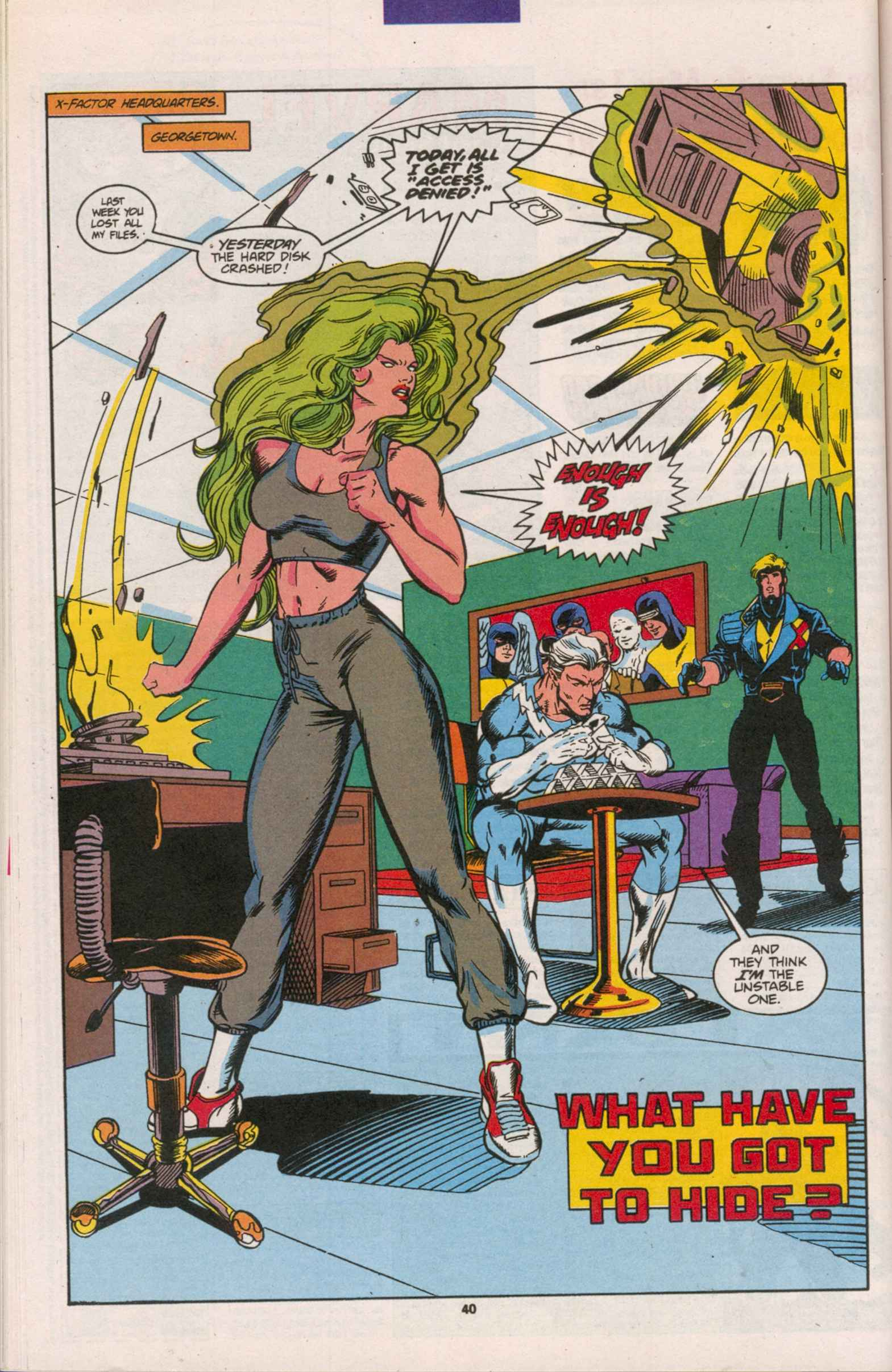 Read online X-Factor (1986) comic -  Issue # _ Annual 8 - 35