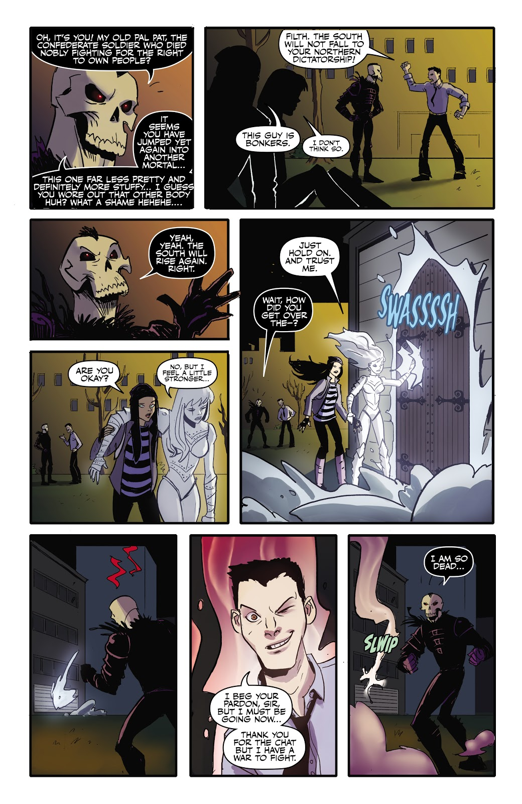 Read online September Mourning Volume 1 comic -  Issue #2 - 13