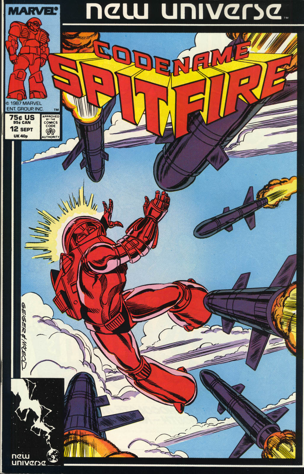 Read online Codename: Spitfire comic -  Issue #12 - 1