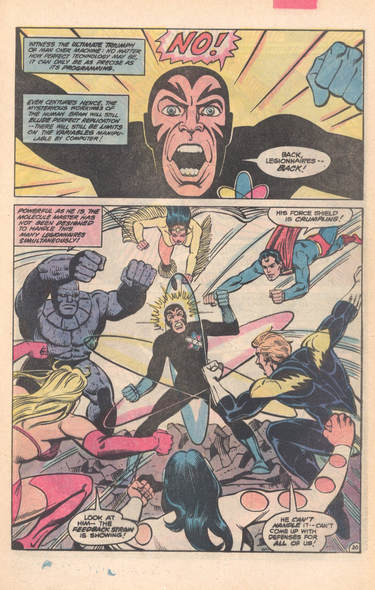 Legion of Super-Heroes (1980) 281 Page 20