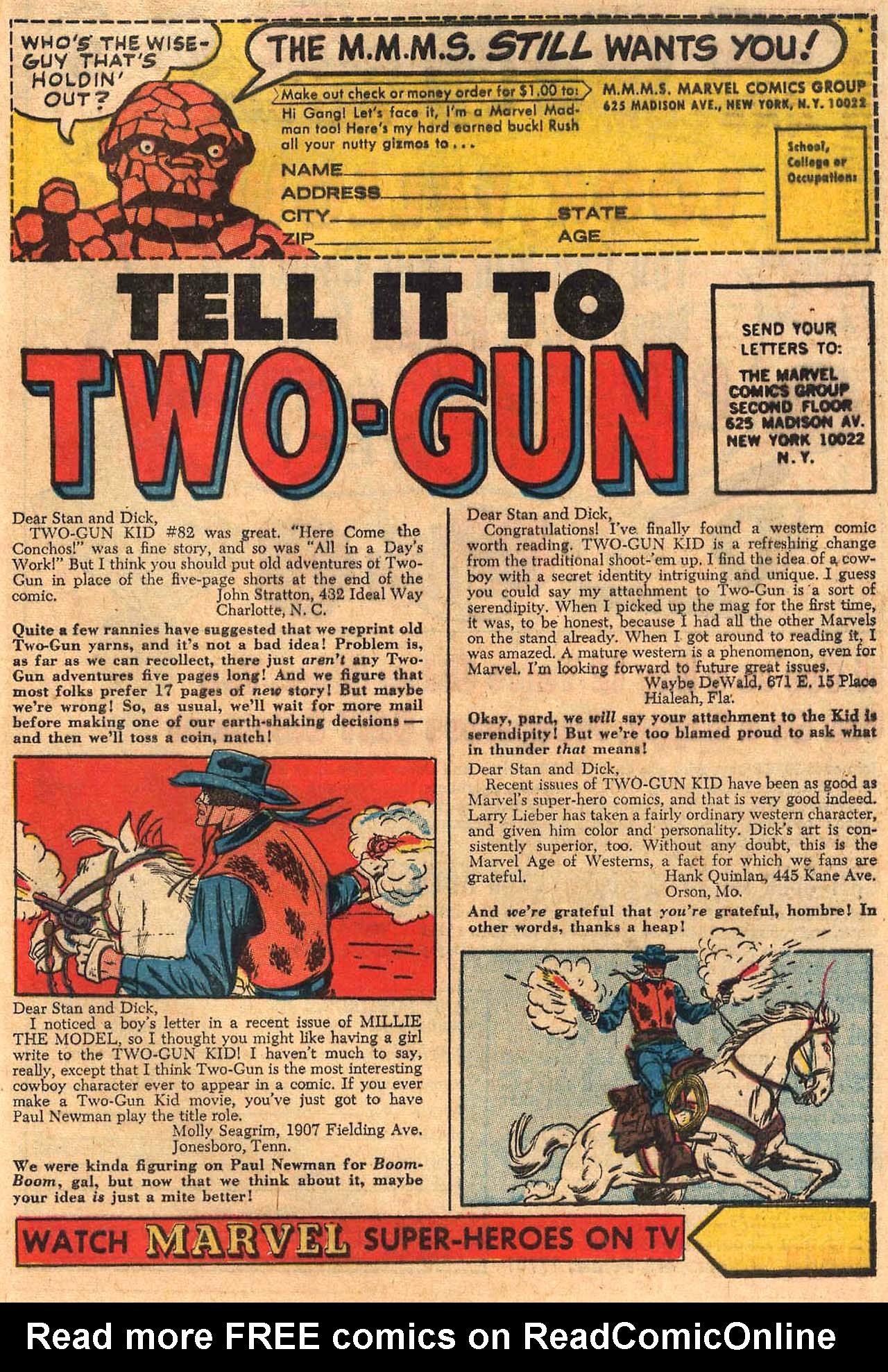 Read online Two-Gun Kid comic -  Issue #84 - 33